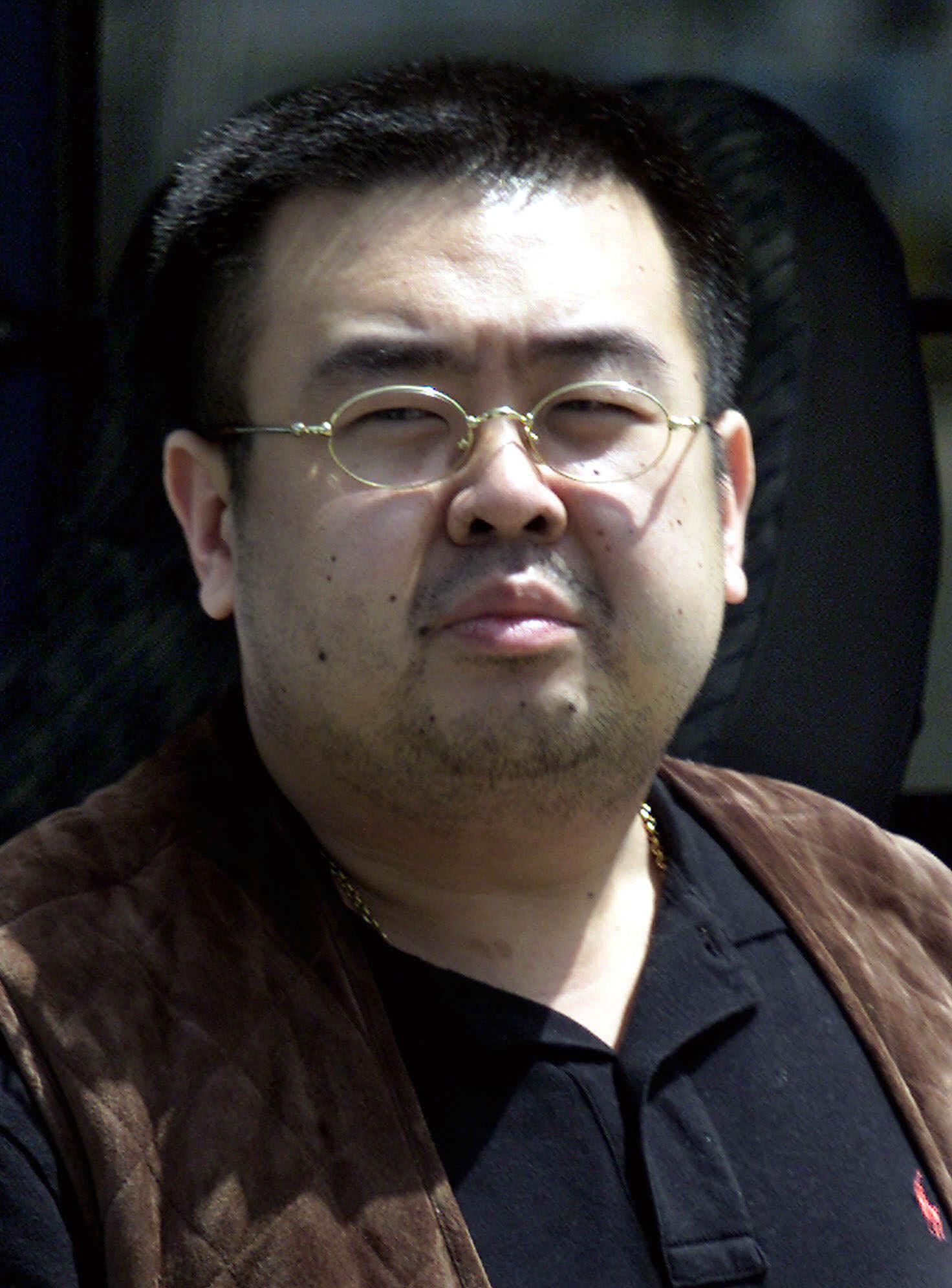 MAN BELIEVED TO BE KIM JONG NAM