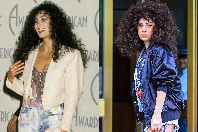 Cher, 1988; Lady Gaga, 2014.