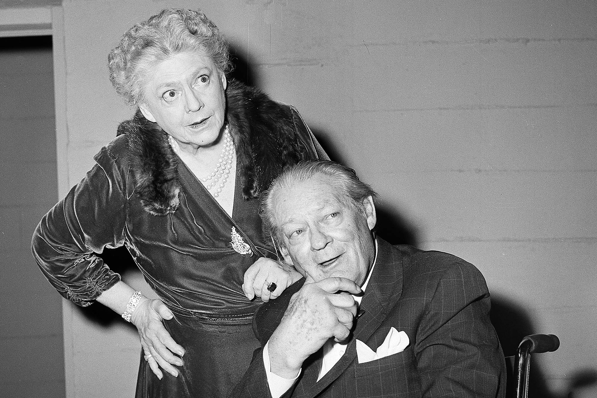 Ethel And Lionel Barrymore