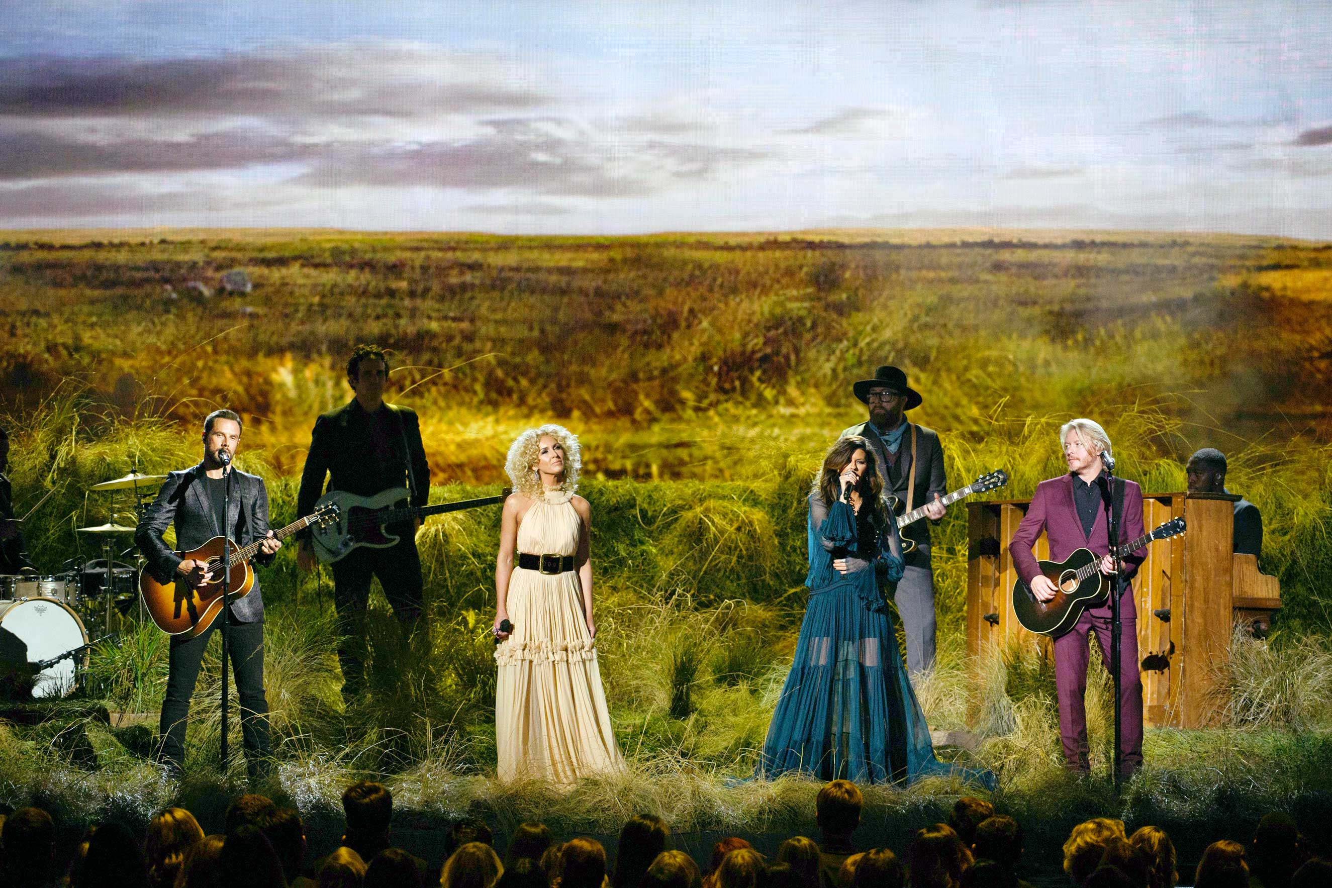 Little Big Town performing at The 50th Annual CMA Awards in Nashville, Wednesday, November 2.