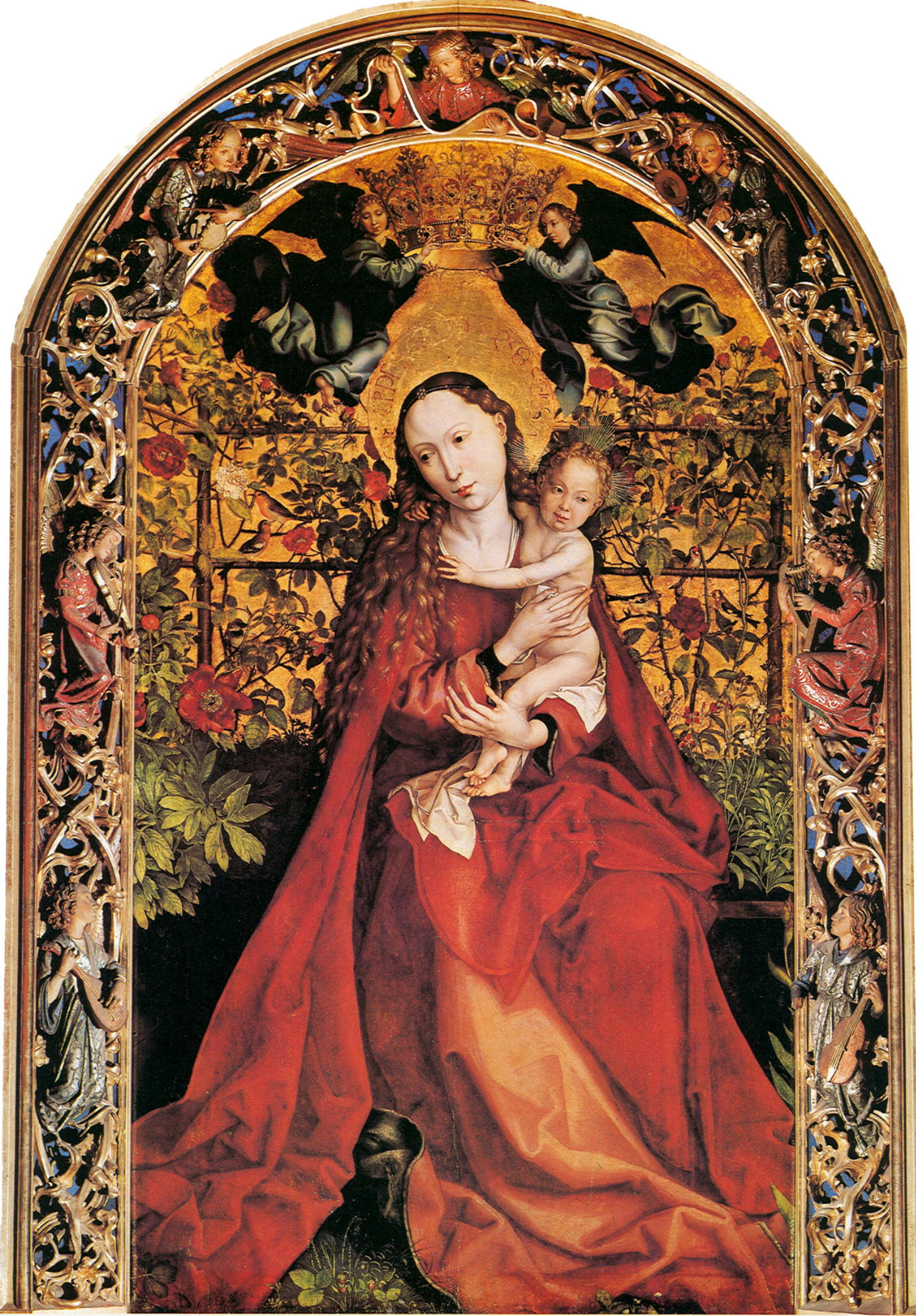 Madonna in the Rose Garden, 1473