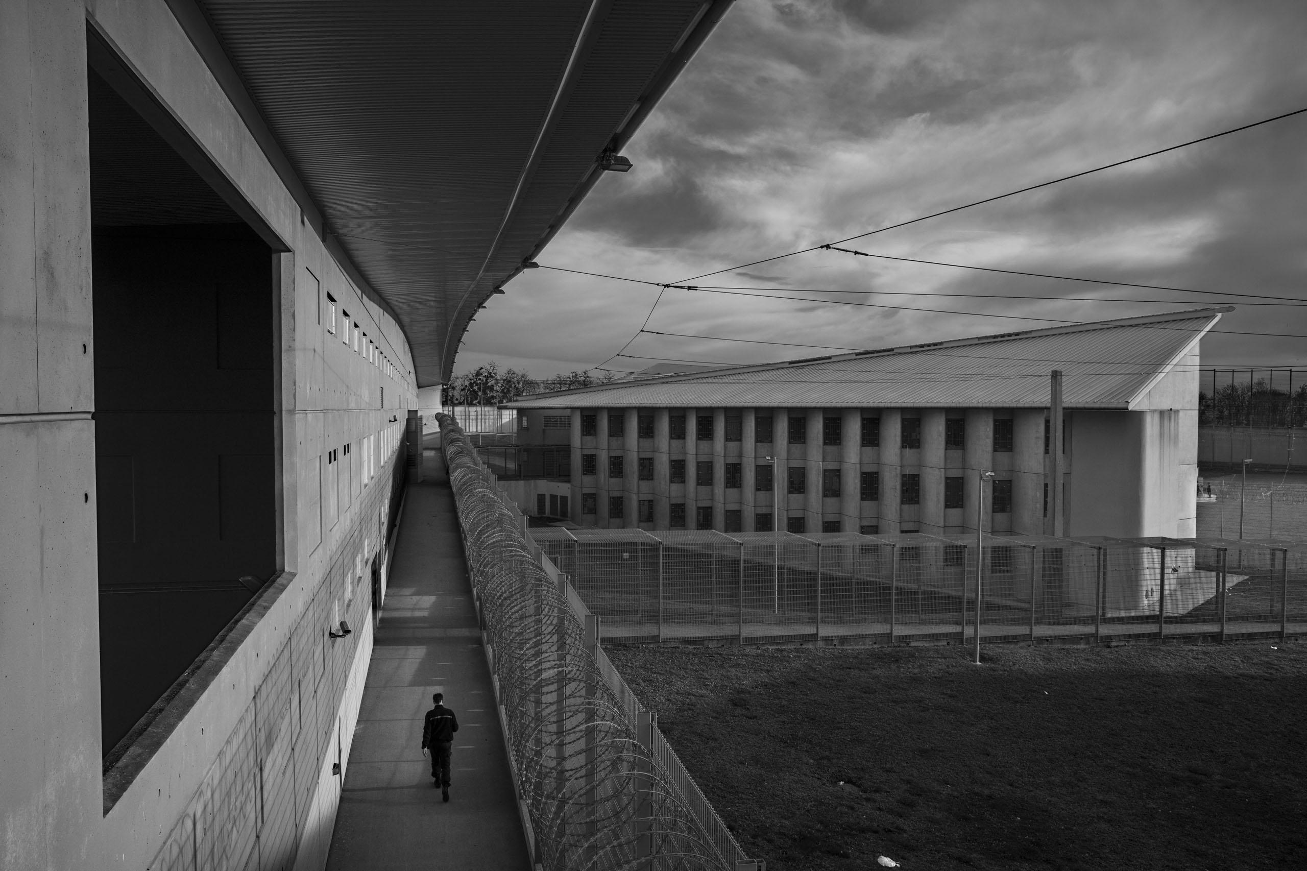 The Meaux-Chauconin penitentiary, outside Paris, Nov. 24, 2016.