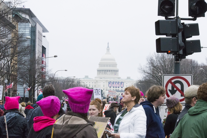 Women's March On Washington on Jan. 21, 2017 in Washington, D.C.