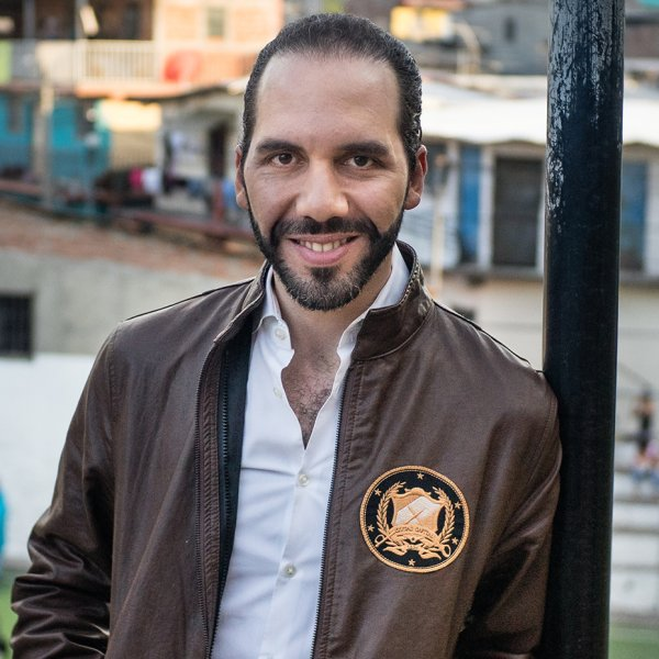 Nayib Bukele photographed in San Salvador, El Salvador on Feb. 9, 2017.