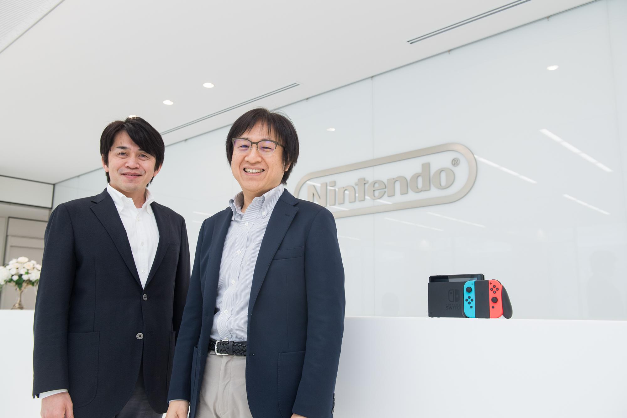 Yoshiaki Koizumi (L), Shinya Takahashi (R). Nintendo