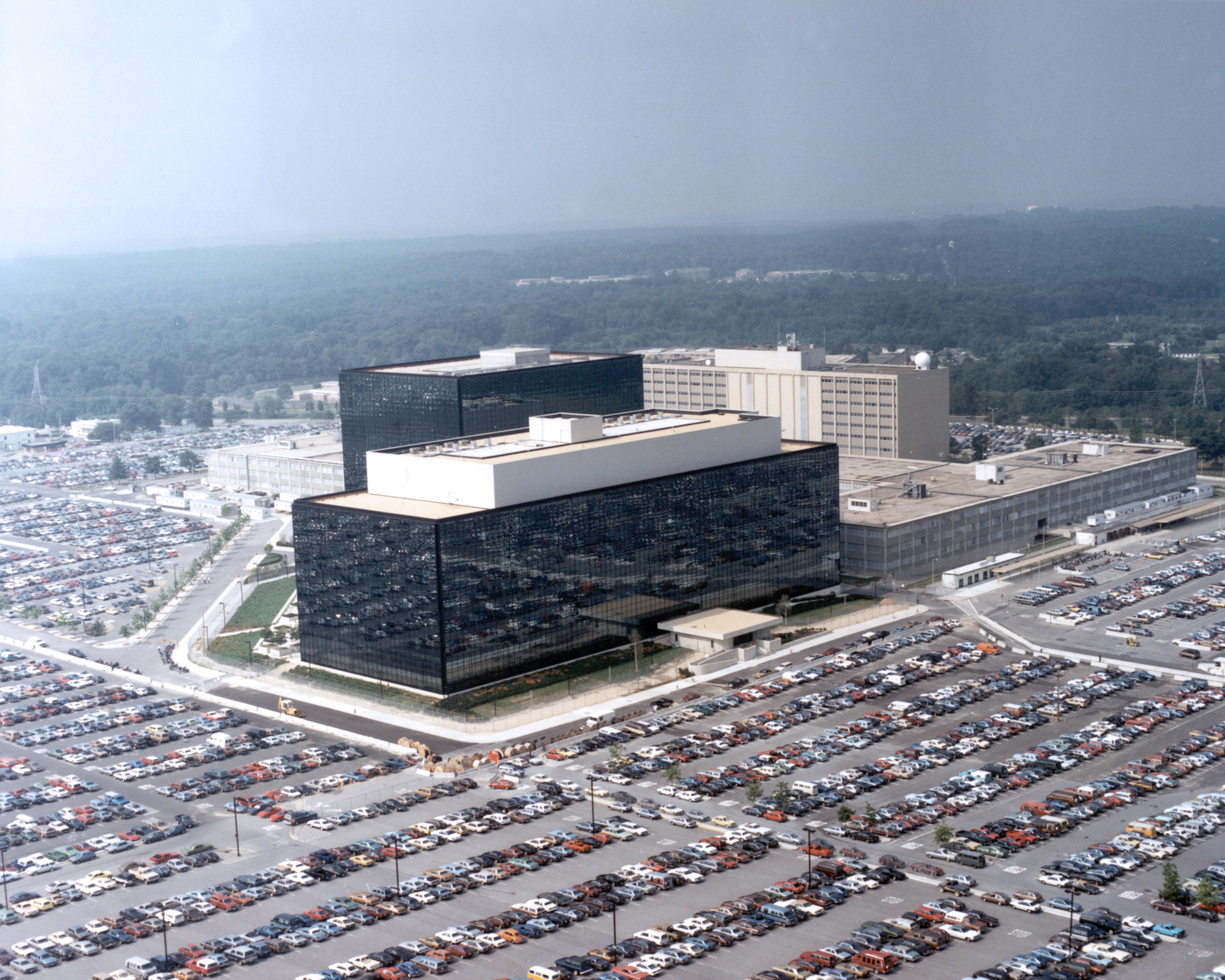 The headquarters of the NSA in Fort Meade, Maryland.