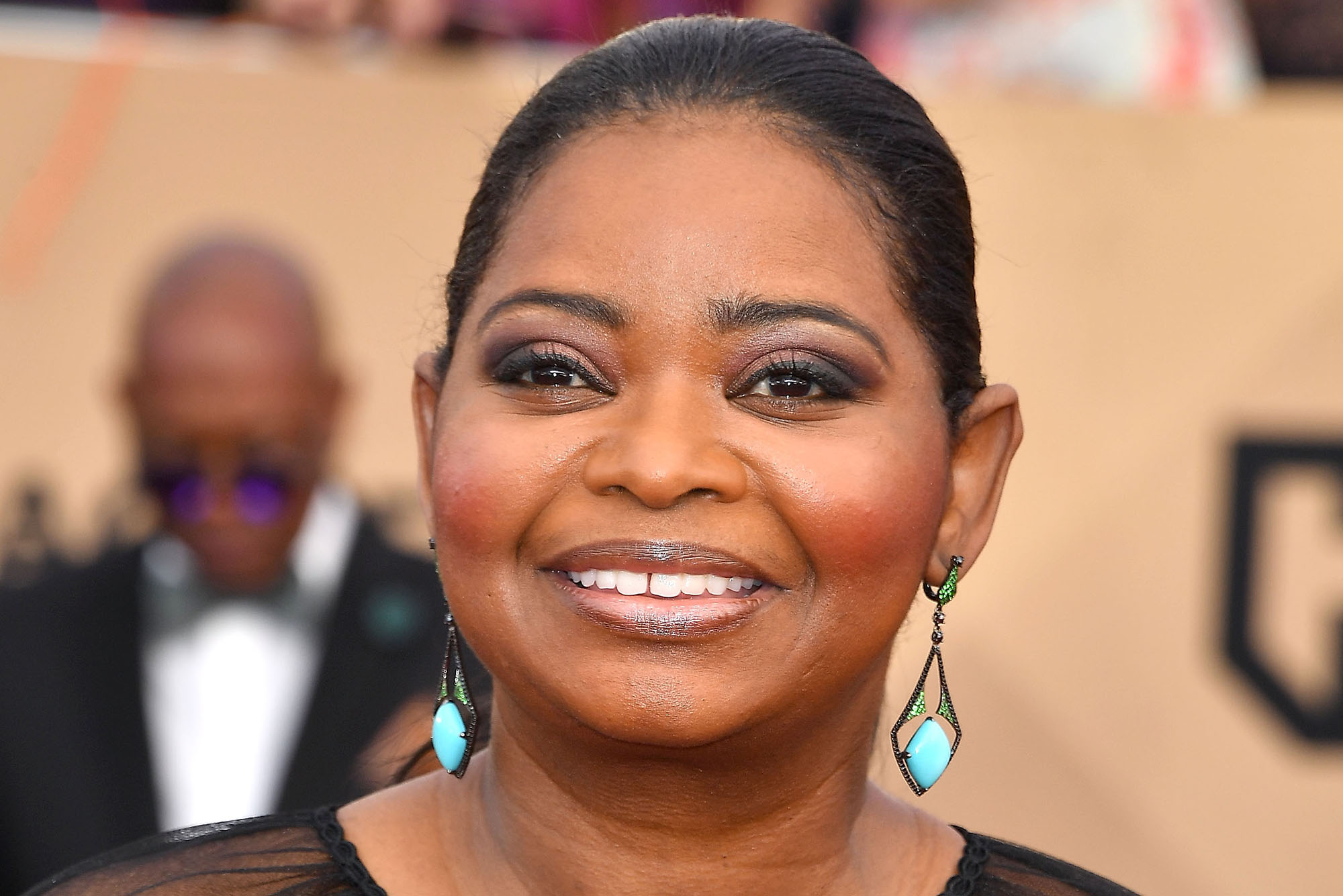Octavia Spencer arrives at the 23rd Annual Screen Actors Guild Awards at The Shrine Expo Hall on January 29, 2017 in Los Angeles, California.