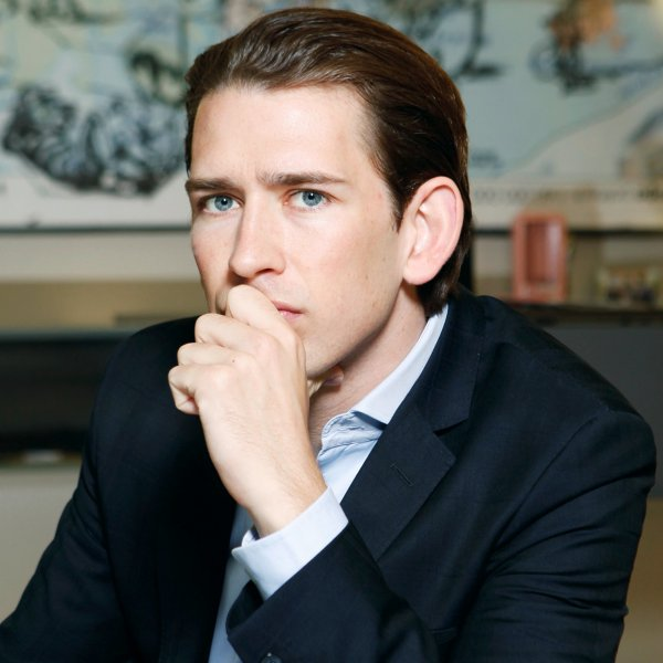 Sebastian Kurz, Austrian Minister of Foreign Affairs, photographed in Vienna, May 31, 2016.