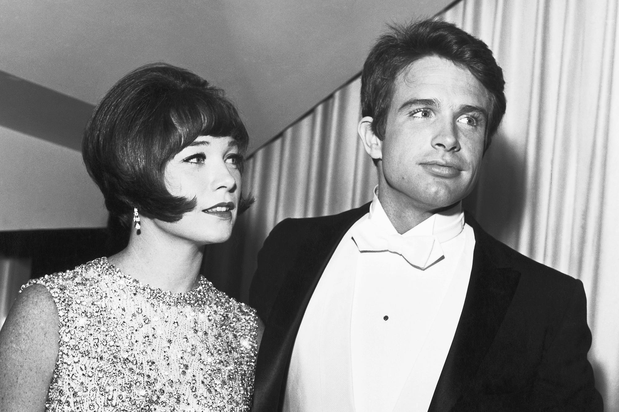 Shirley MacLaine and Warren Beatty