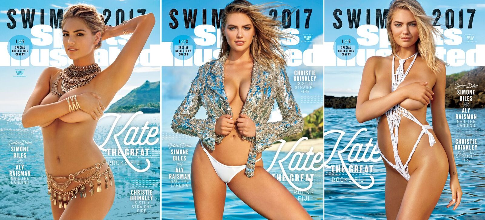 Swimsuit: 2017 Issue: Kate Upton is our SI Swimsuit 2017 cover girl.