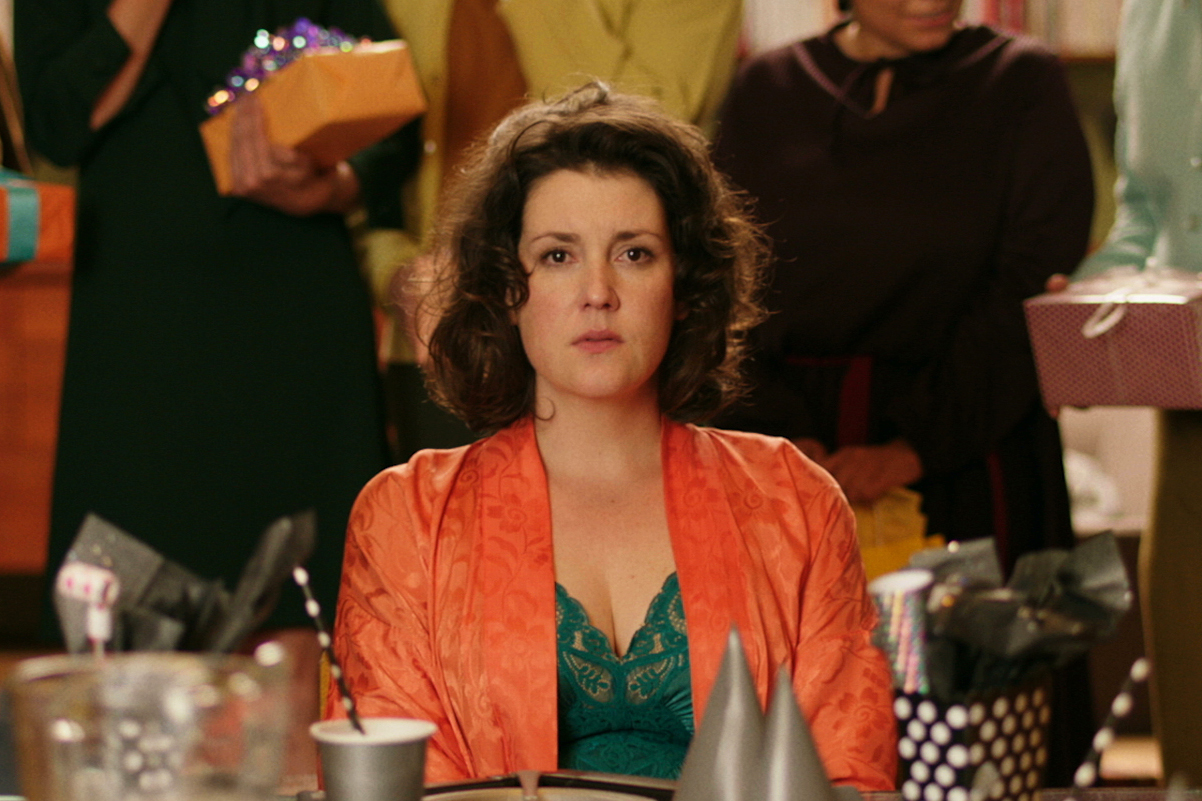 Melanie Lynskey in  The Birthday Party  in XX.