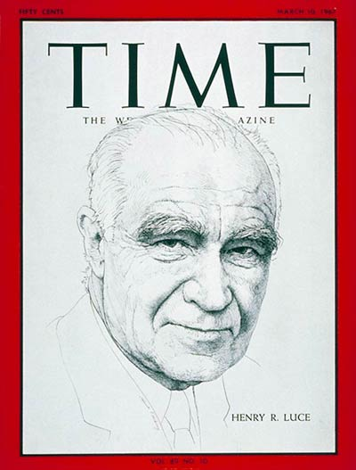 The Mar. 10, 1967, cover of TIME