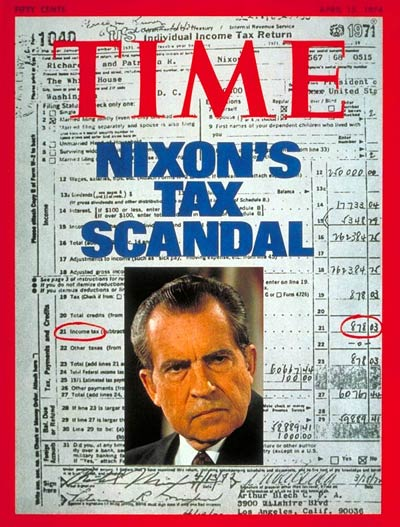 The April 14, 1974, cover of TIME