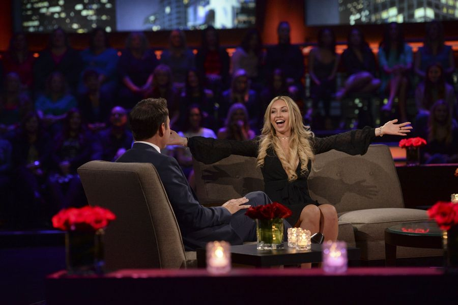 Former contestant Corinne on 'The Bachelor' on March 7, 2017.