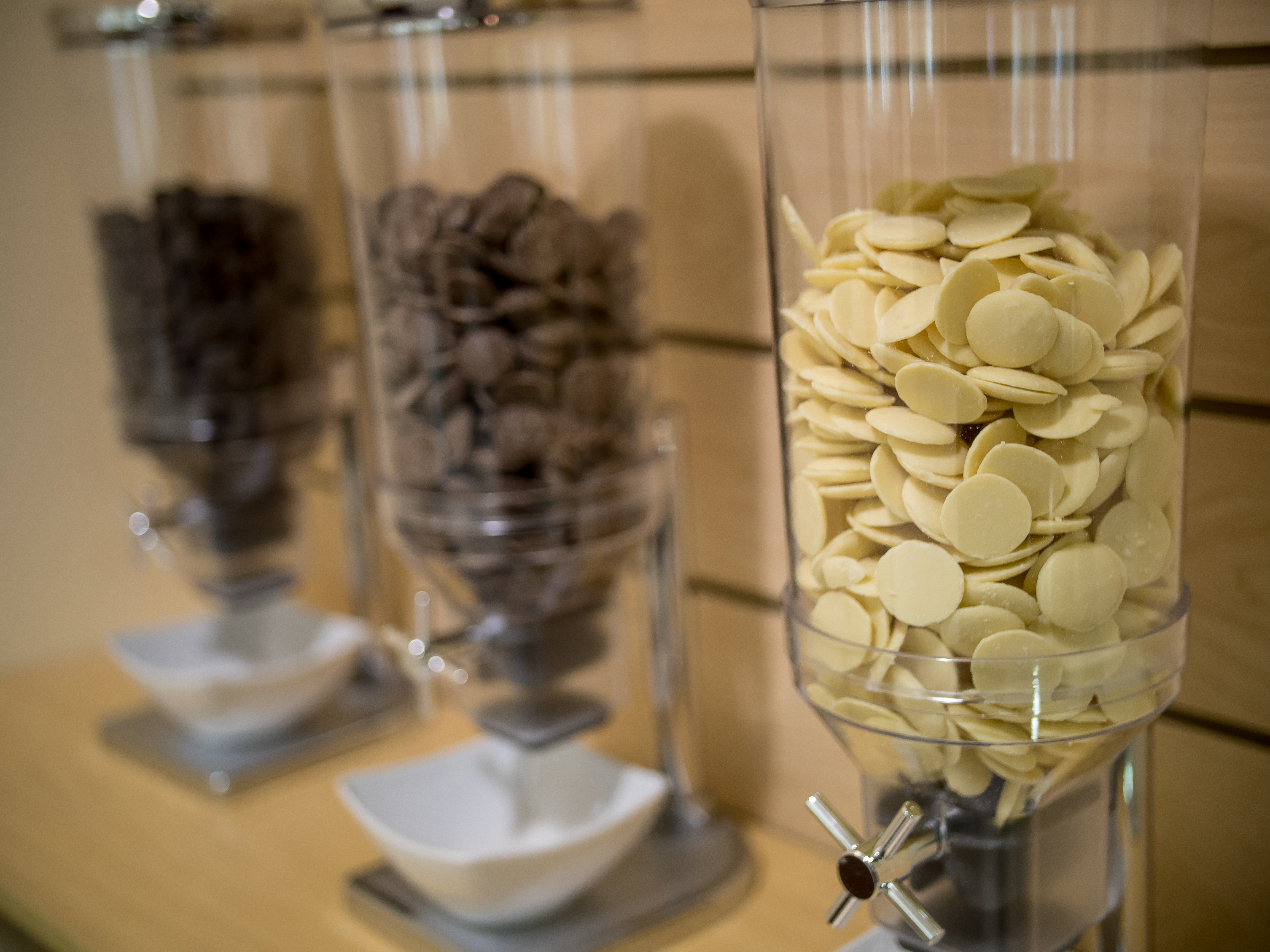 Chocolate tastings are included in the museum visit.