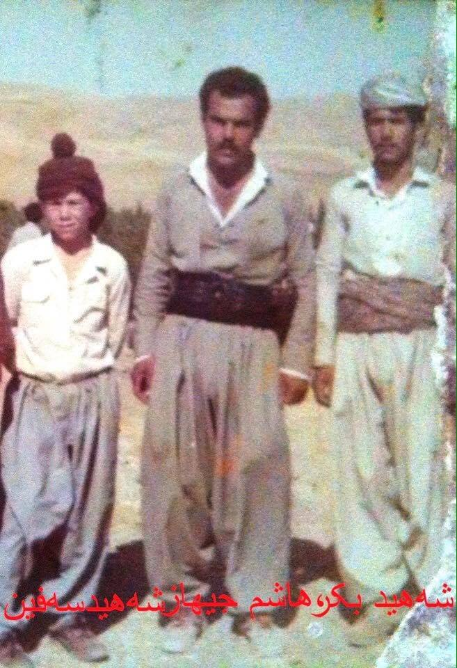 Safen, Hashim and Bekir in an undated photograph.