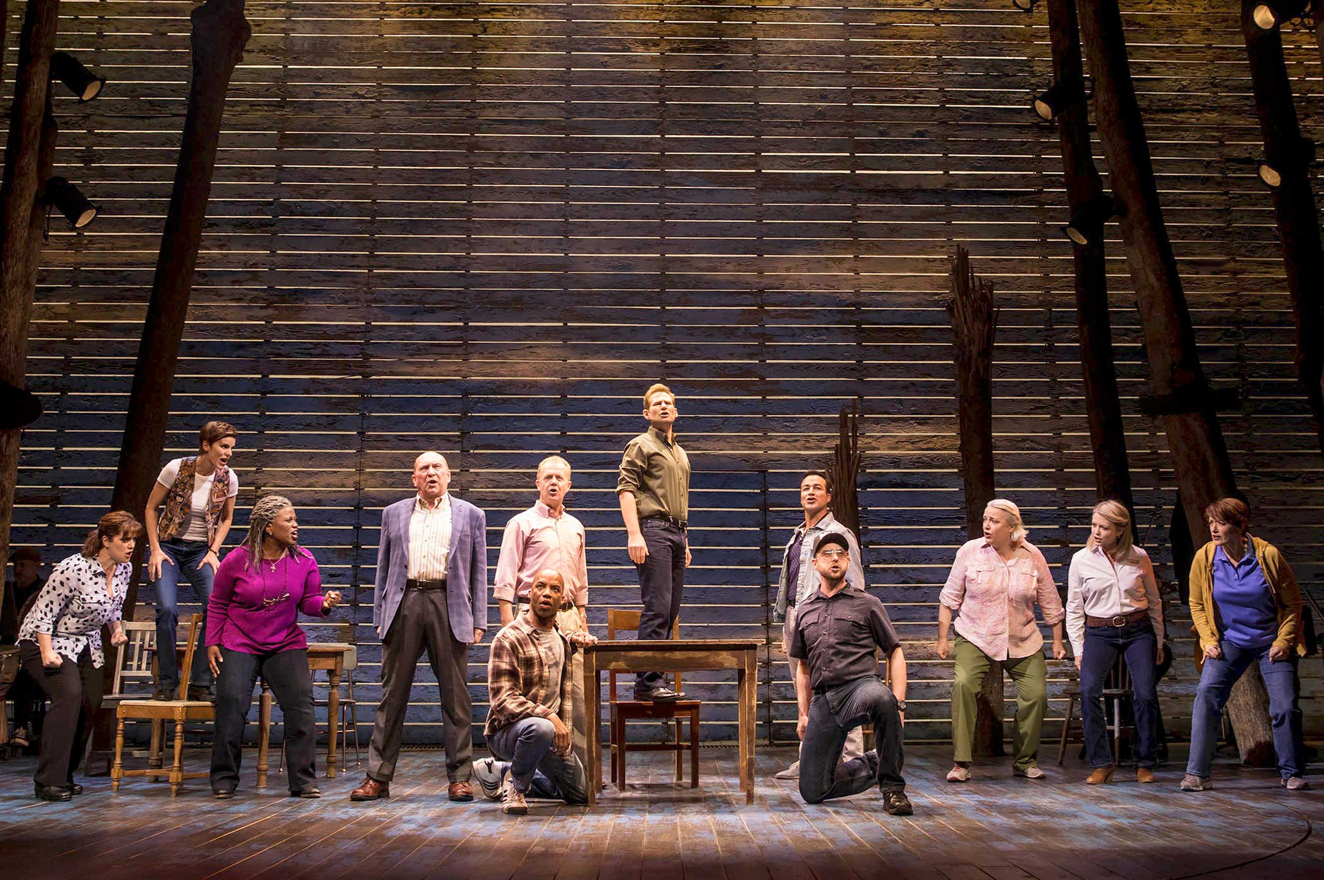 A small Canadian town becomes an unlikely host in Come From Away