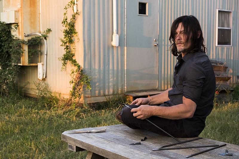 Norman Reedus as Daryl Dixon - The Walking Dead Season 7, Episode 14