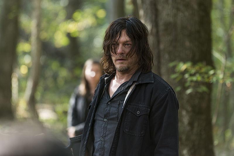 Norman Reedus as Daryl Dixon in The Walking Dead Season 7, Episode 15