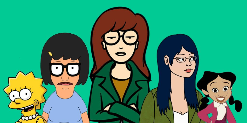 Daria S Birthday The 26 Best Female Tv Cartoon Characters Time