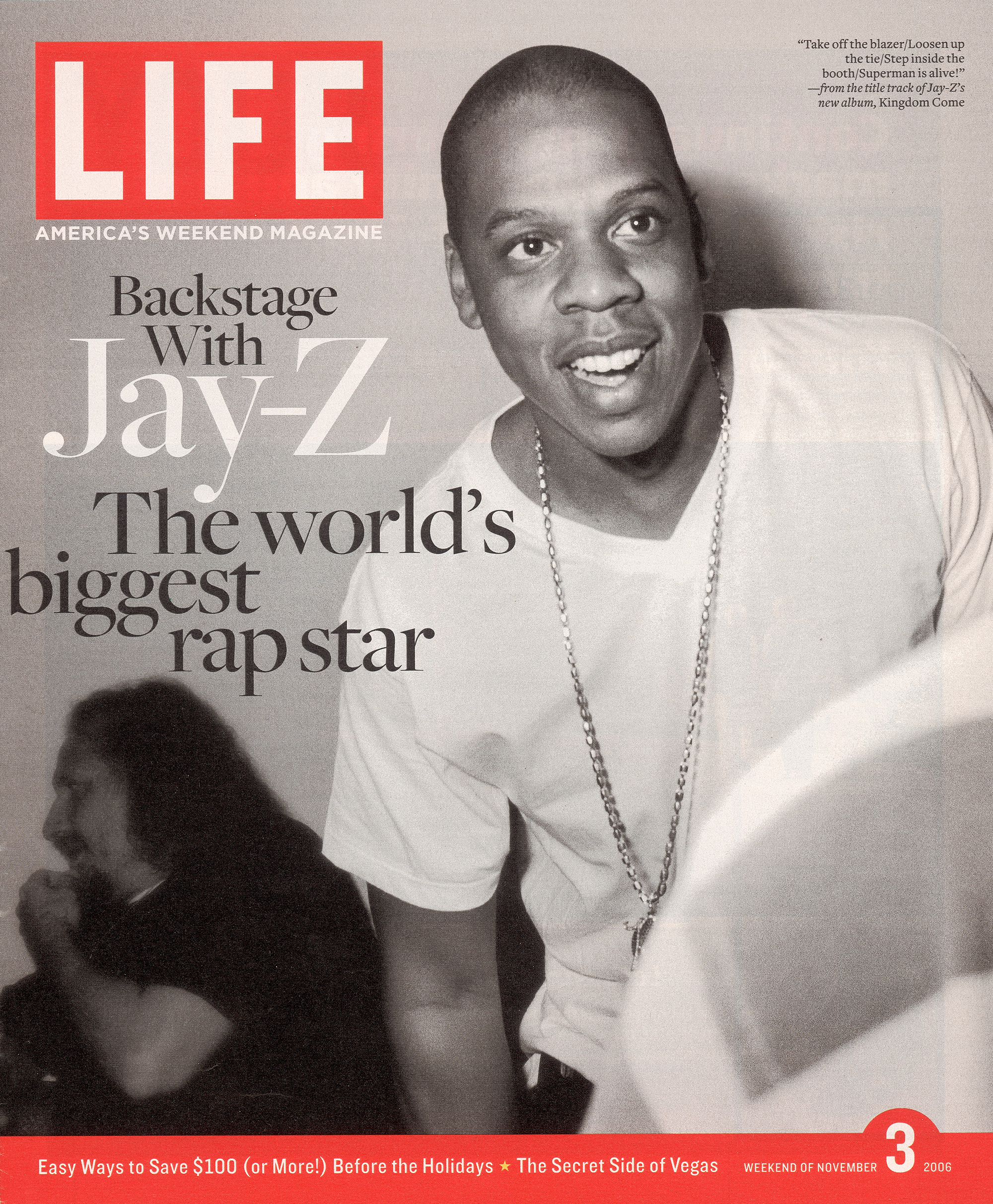 LIFE Cover 11-03-2006 of rapper Jay-Z.