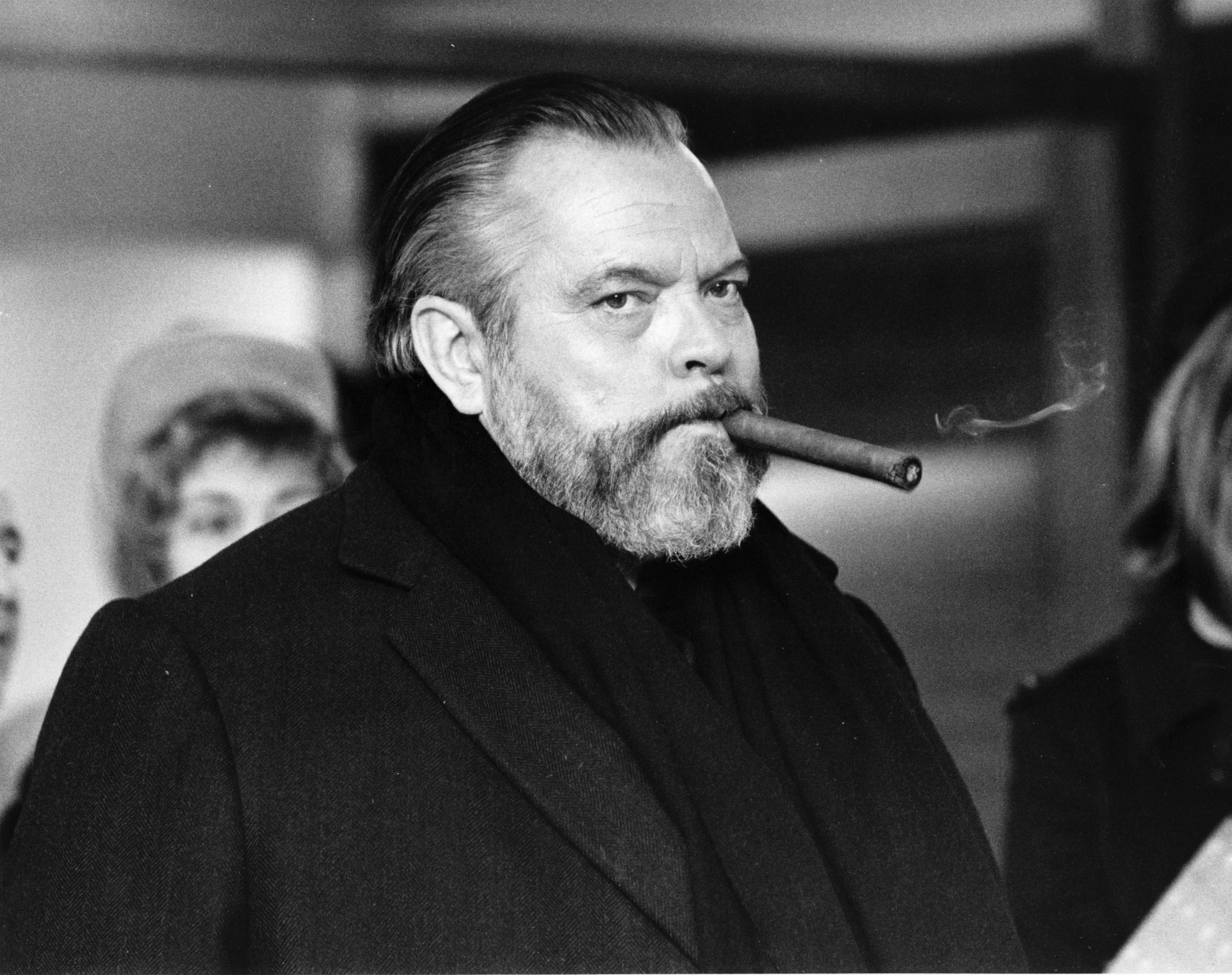 Orson Welles (1915 - 1985), American actor, producer, writer and director.