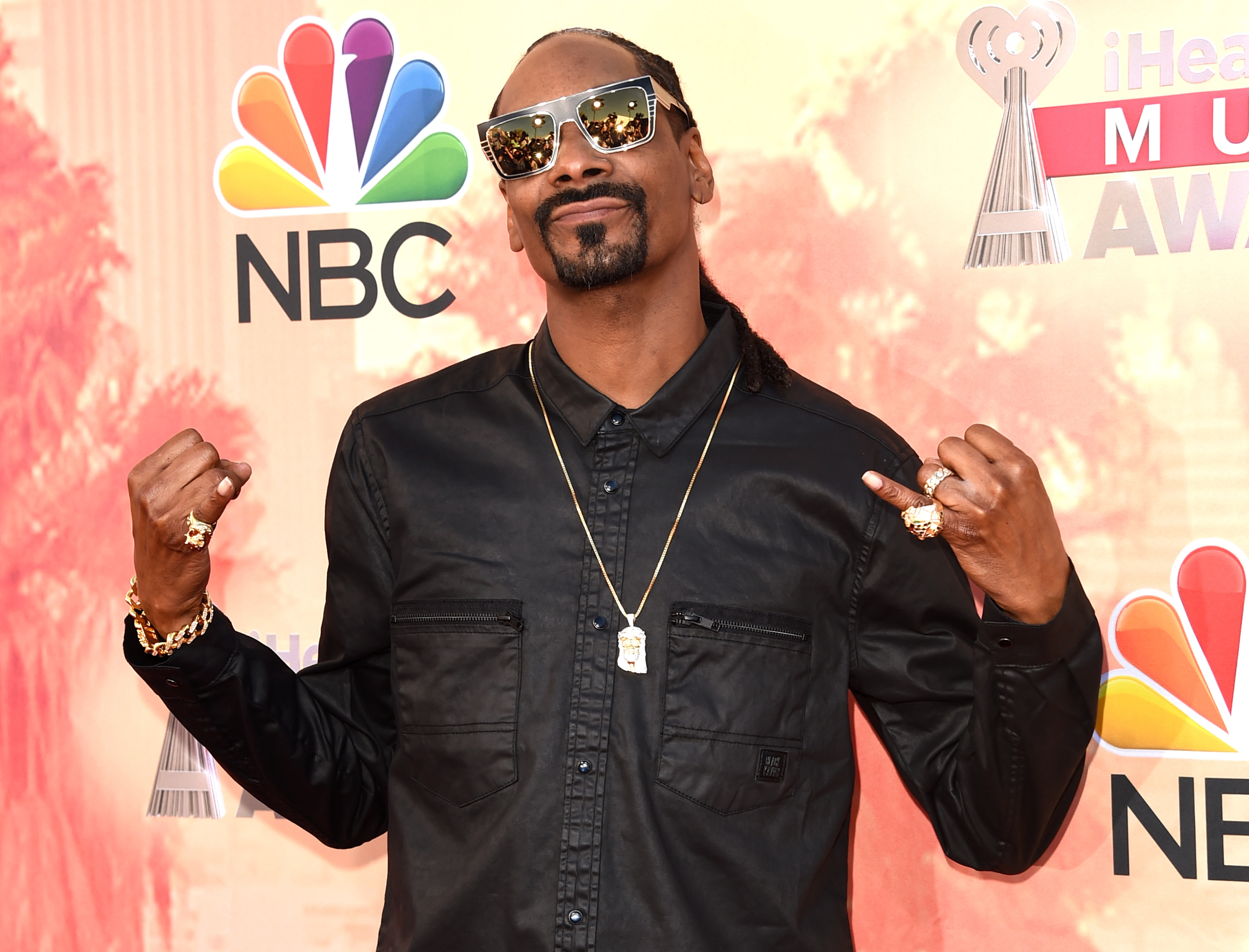Rapper Snoop Dogg attends the 2015 iHeartRadio Music Awards which broadcasted live on NBC from The Shrine Auditorium on March 29, 2015 in Los Angeles, California.  (Photo by Jason Merritt/Getty Images for iHeartMedia)
