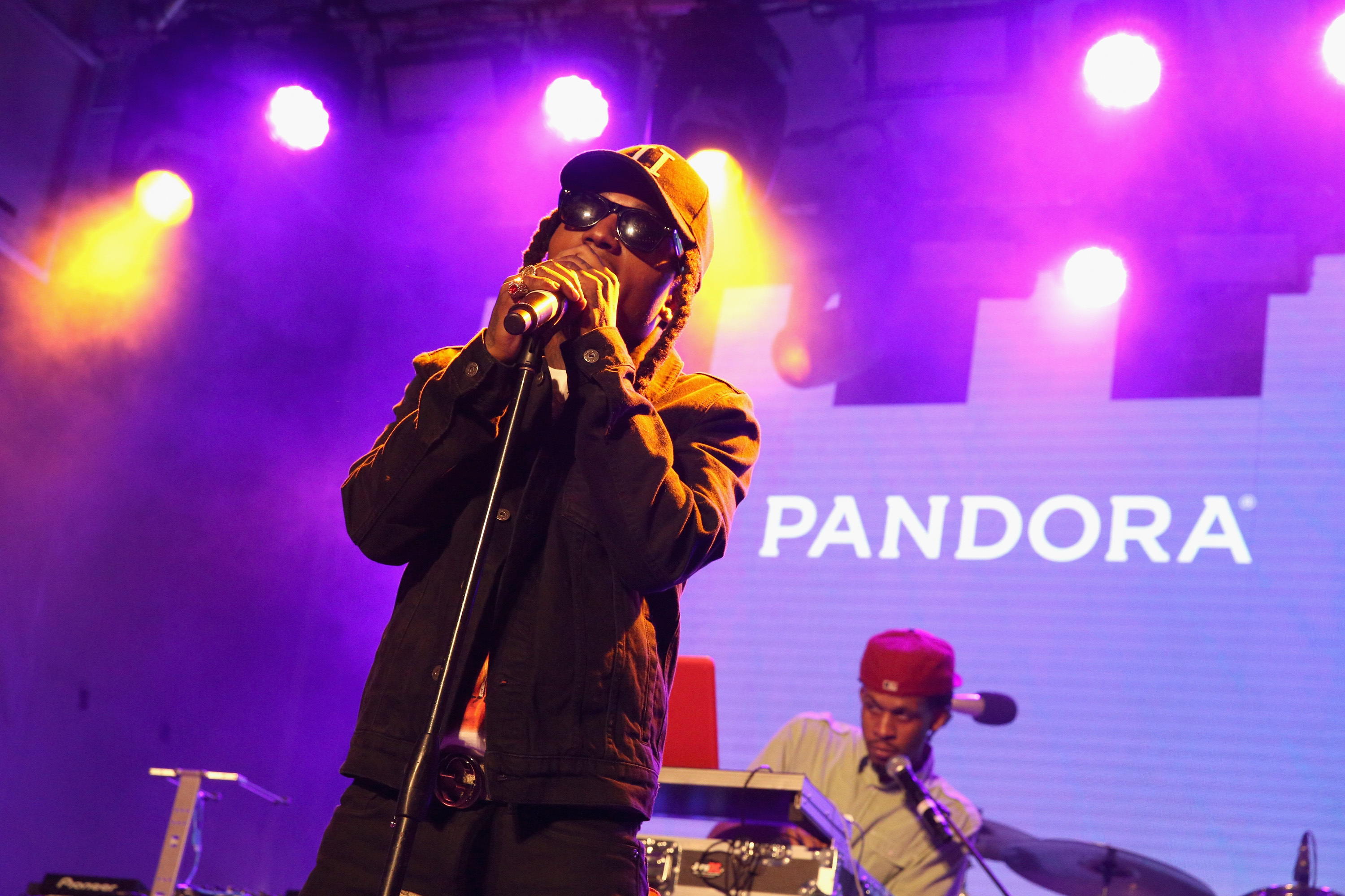 Singer Jacquees performs onstage during the PANDORA Discovery Den SXSW on March 18, 2016 in Austin, Texas.