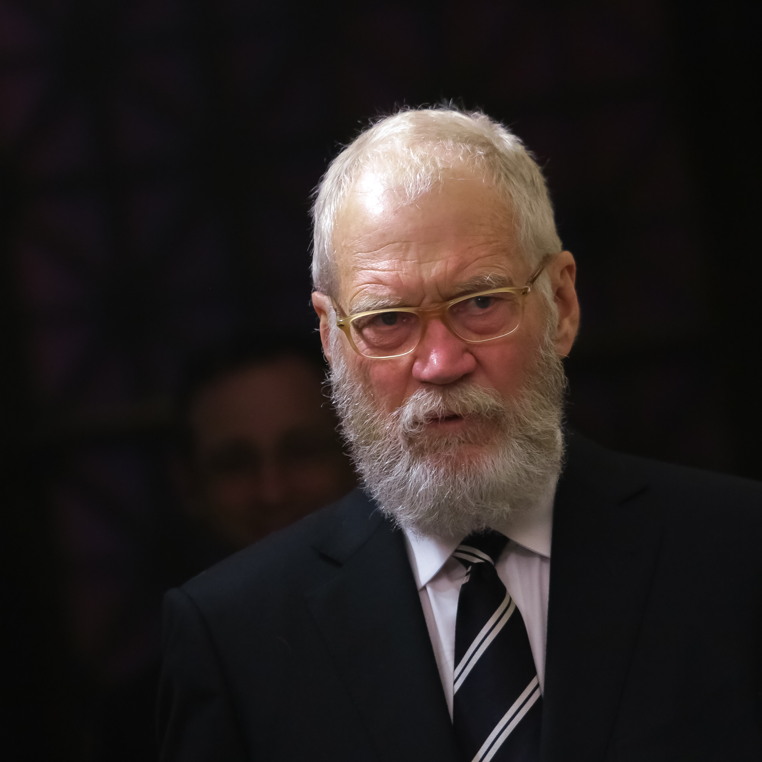 Individual Award Recipient, comedian/television host David Letterman is seen entering the press room during the 75th Annual Peabody Awards Ceremony held at Cipriani Wall Street on May 21, 2016 in New York City. Brent N. Clarke—FilmMagic