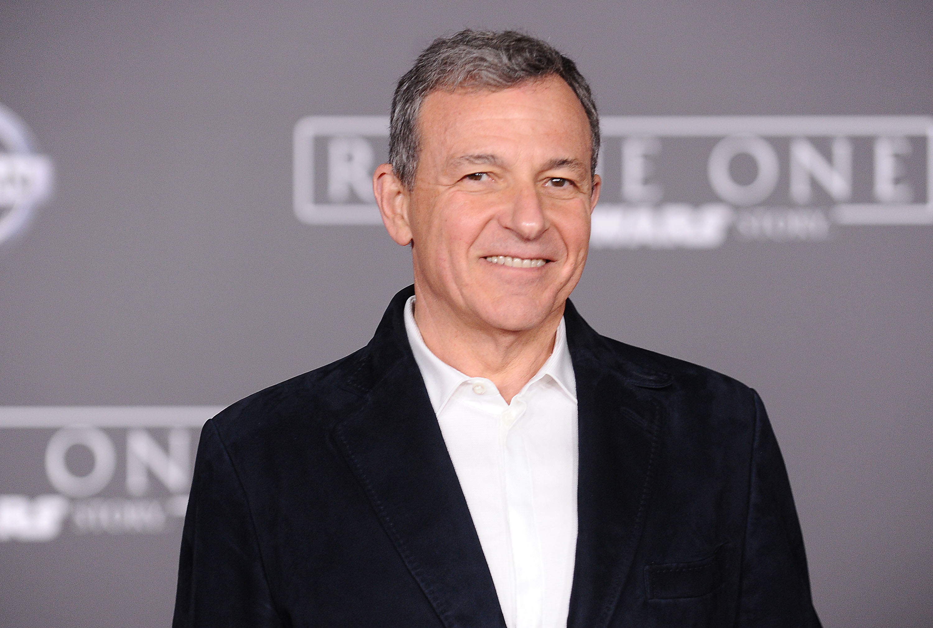 Bob Iger attends the premiere of  Rogue One: A Star Wars Story  at the Pantages Theatre on Dec. 10, 2016 in Hollywood, California.