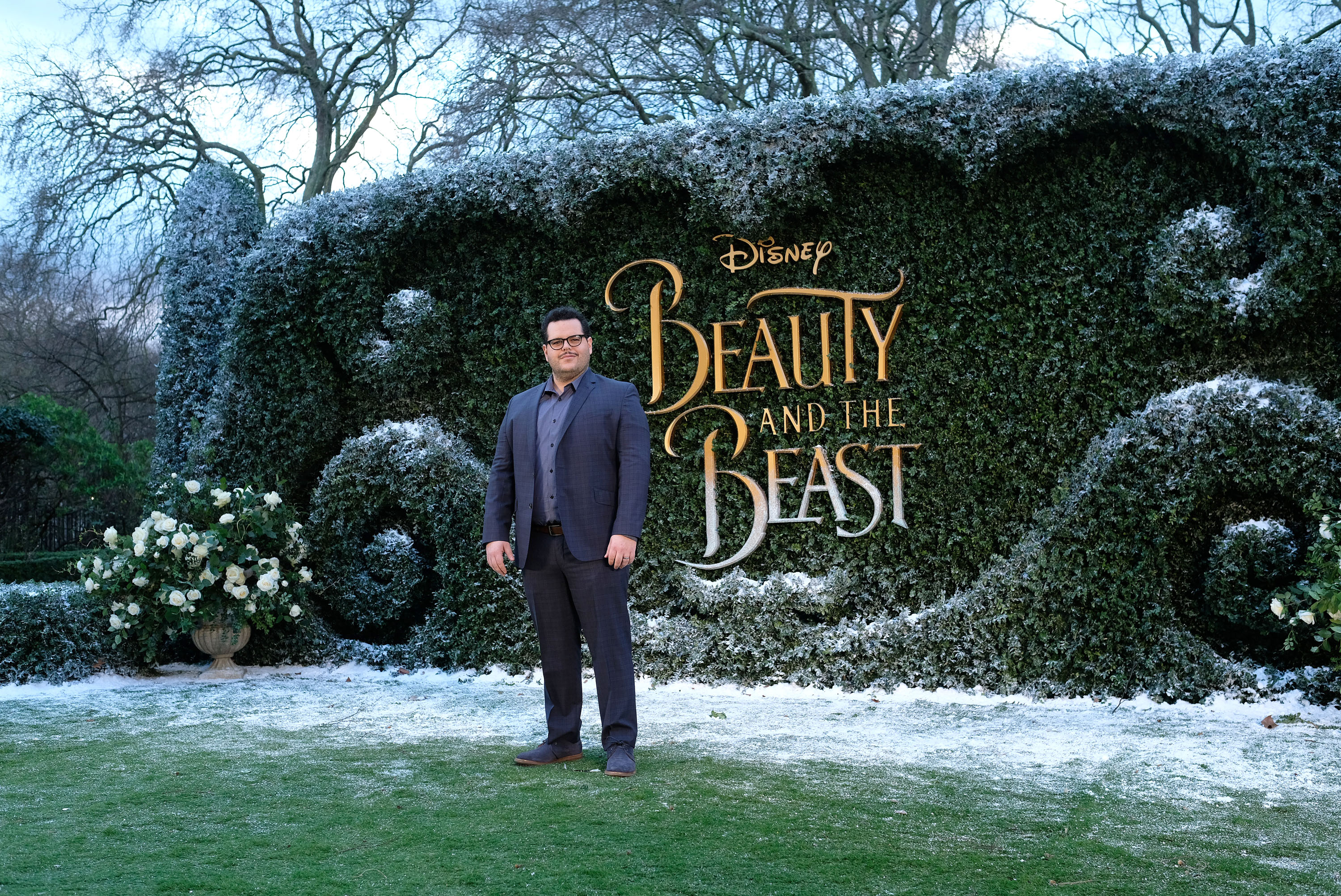 Josh Gad attends UK launch event for  Beauty And The Beast  at Spencer House on February 23, 2017 in London, England.