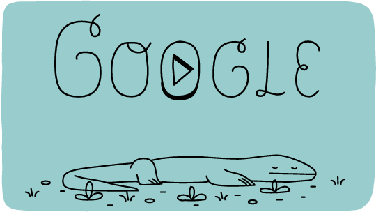 Google Doodle to celebrate the 37th anniversary of Komodo National Park