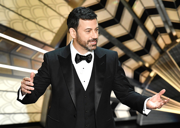 Host Jimmy Kimmel onstage during the 89th Annual Academy Awards at Hollywood & Highland Center on February 26, 2017 in Hollywood, California.