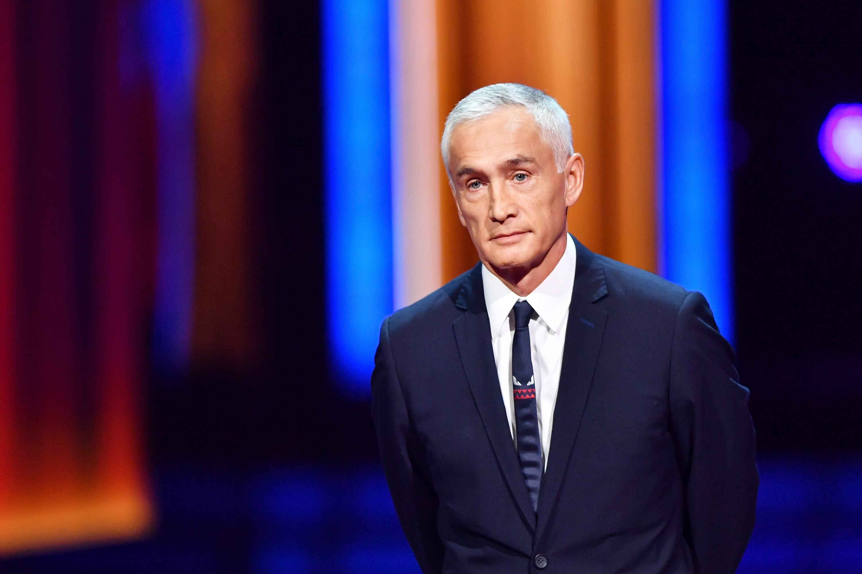 Jorge Ramos speaks onstage during Univision's 29th Edition of Premio Lo Nuestro A La Musica Latina at the American Airlines Arena on Feb. 23, 2017 in Miami, Florida.