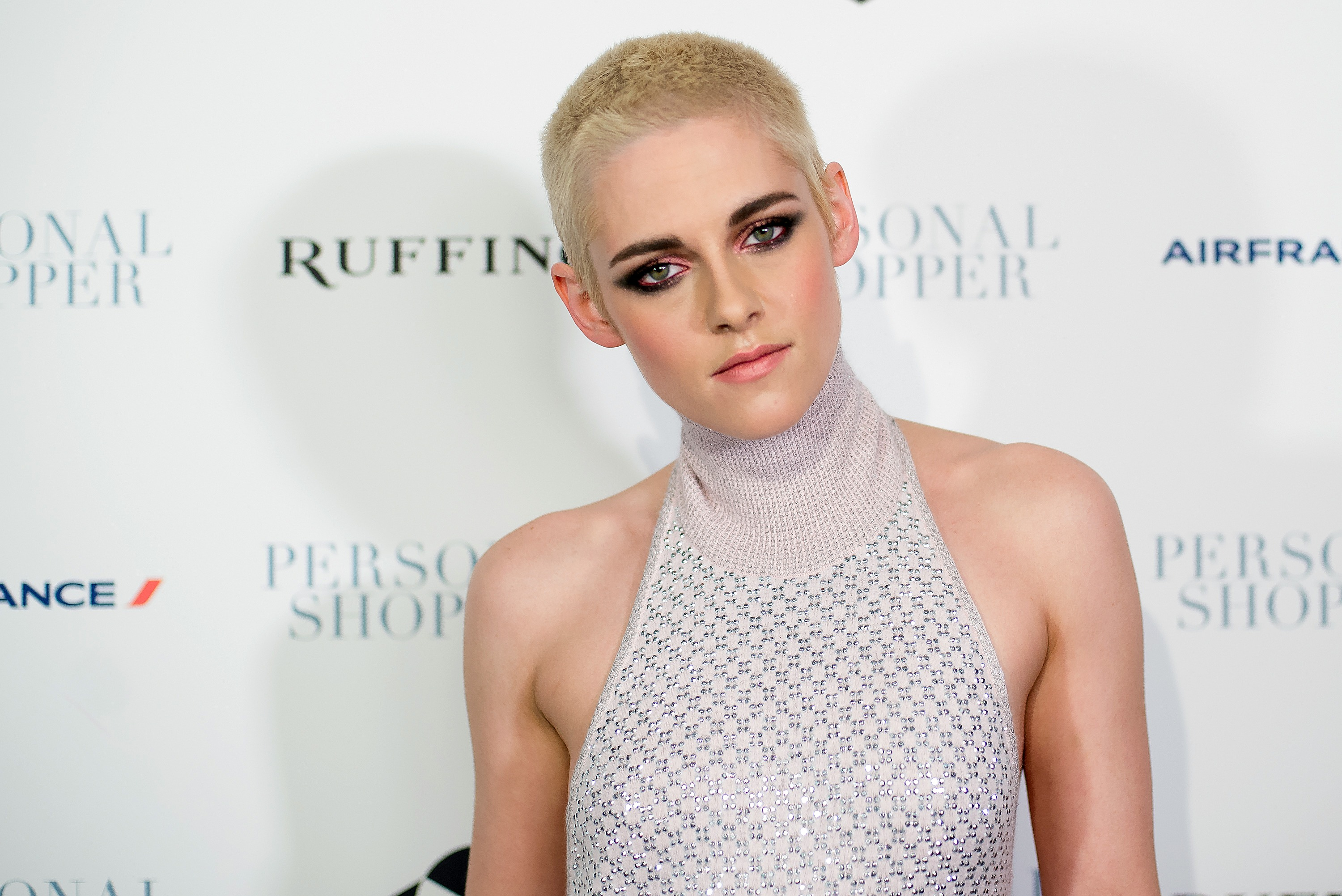 Kristen Stewart attends the  Personal Shopper  New York Premiere at Metrograph on March 9, 2017 in New York City.