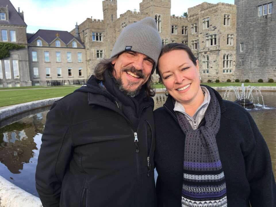 Kurt Cochran, 54, of pictured with his wife Melissa. Cochran is believed to be among killed in Wednesday's attack outside the U.K. Parliament. He was visiting London from Utah.