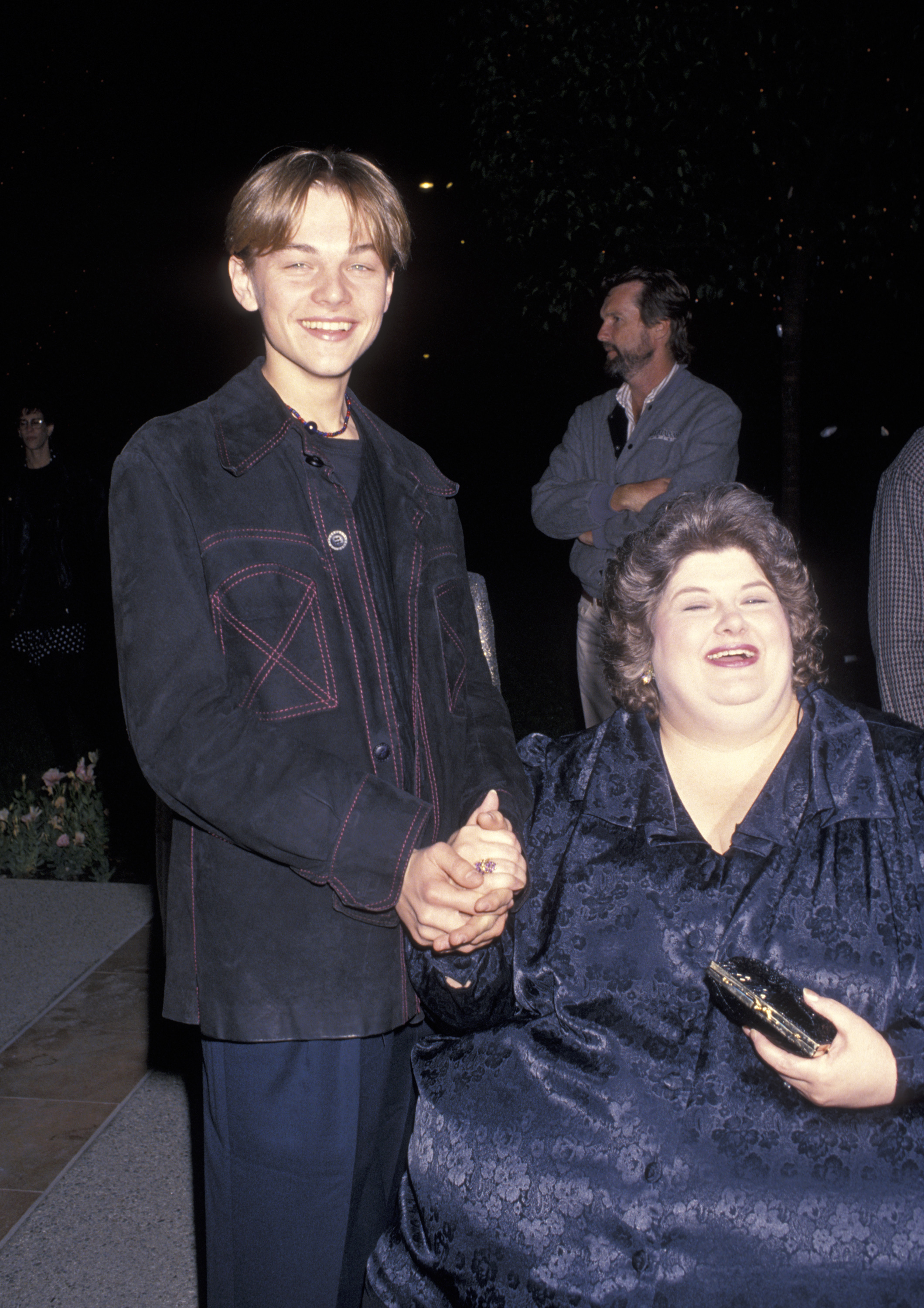 Leonardo DiCaprio and Darlene Cates