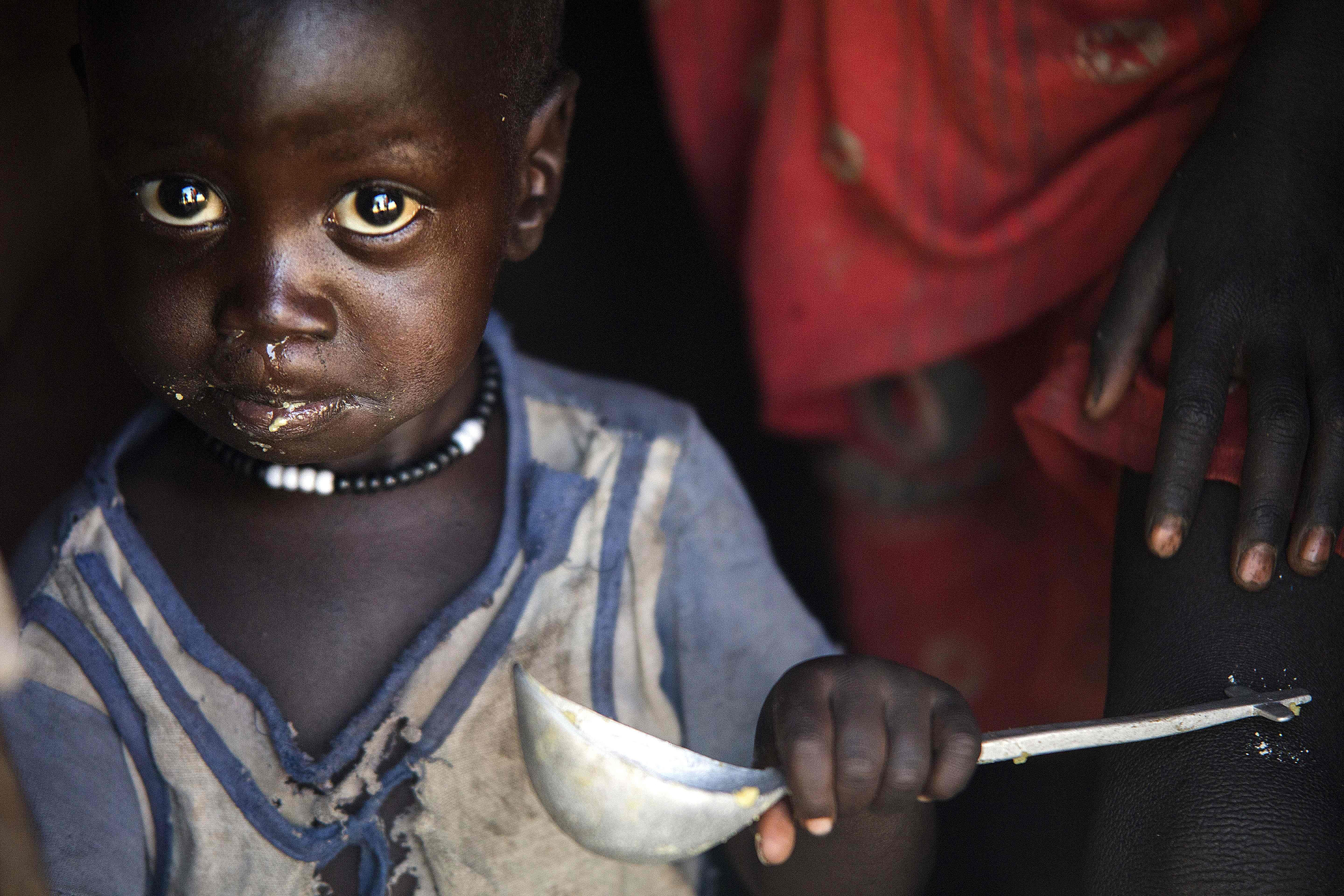 Man-made famines are behind the largest humanitarian crisis since 1945.