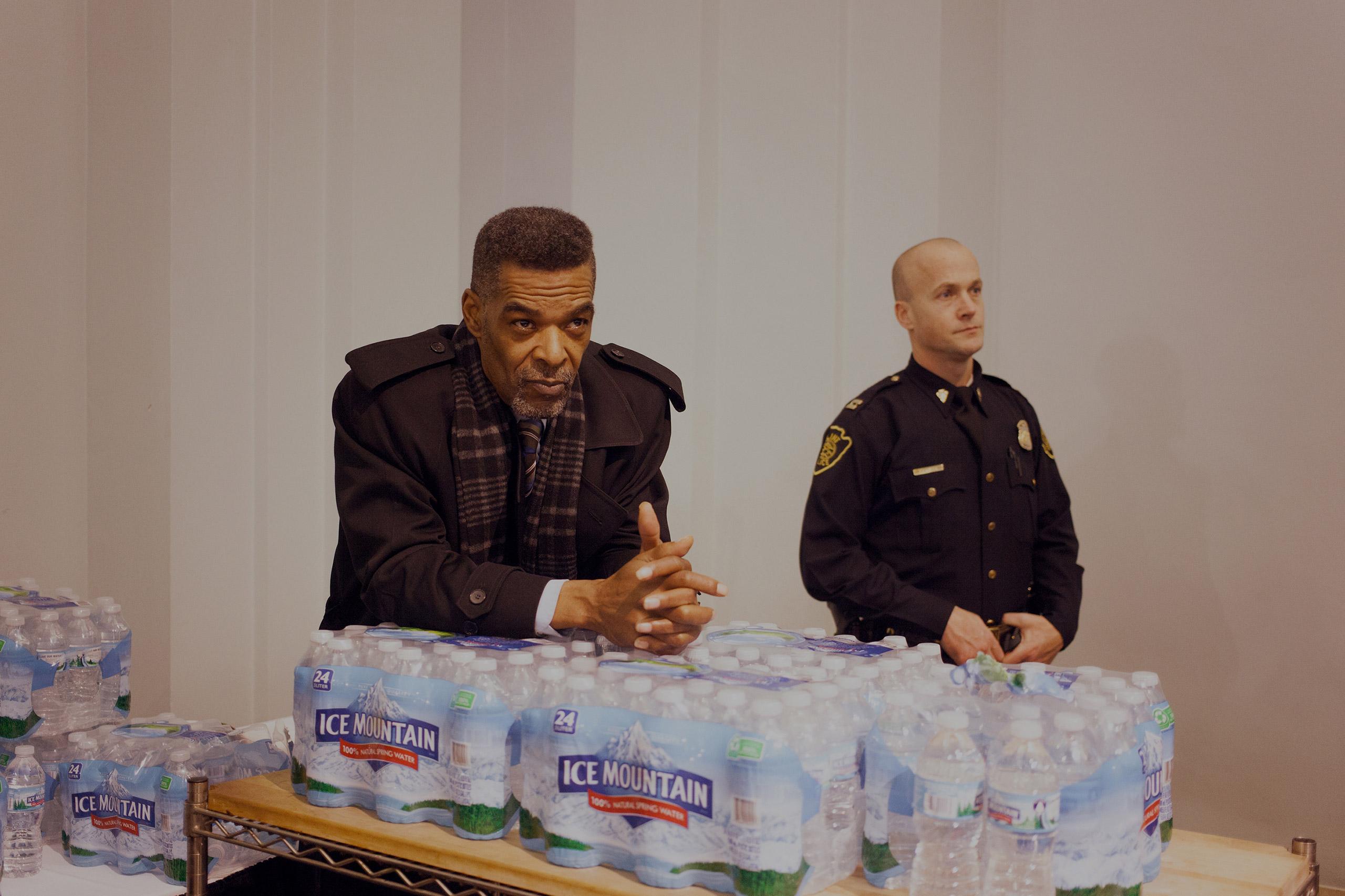 Flint councilman Eric Mays.