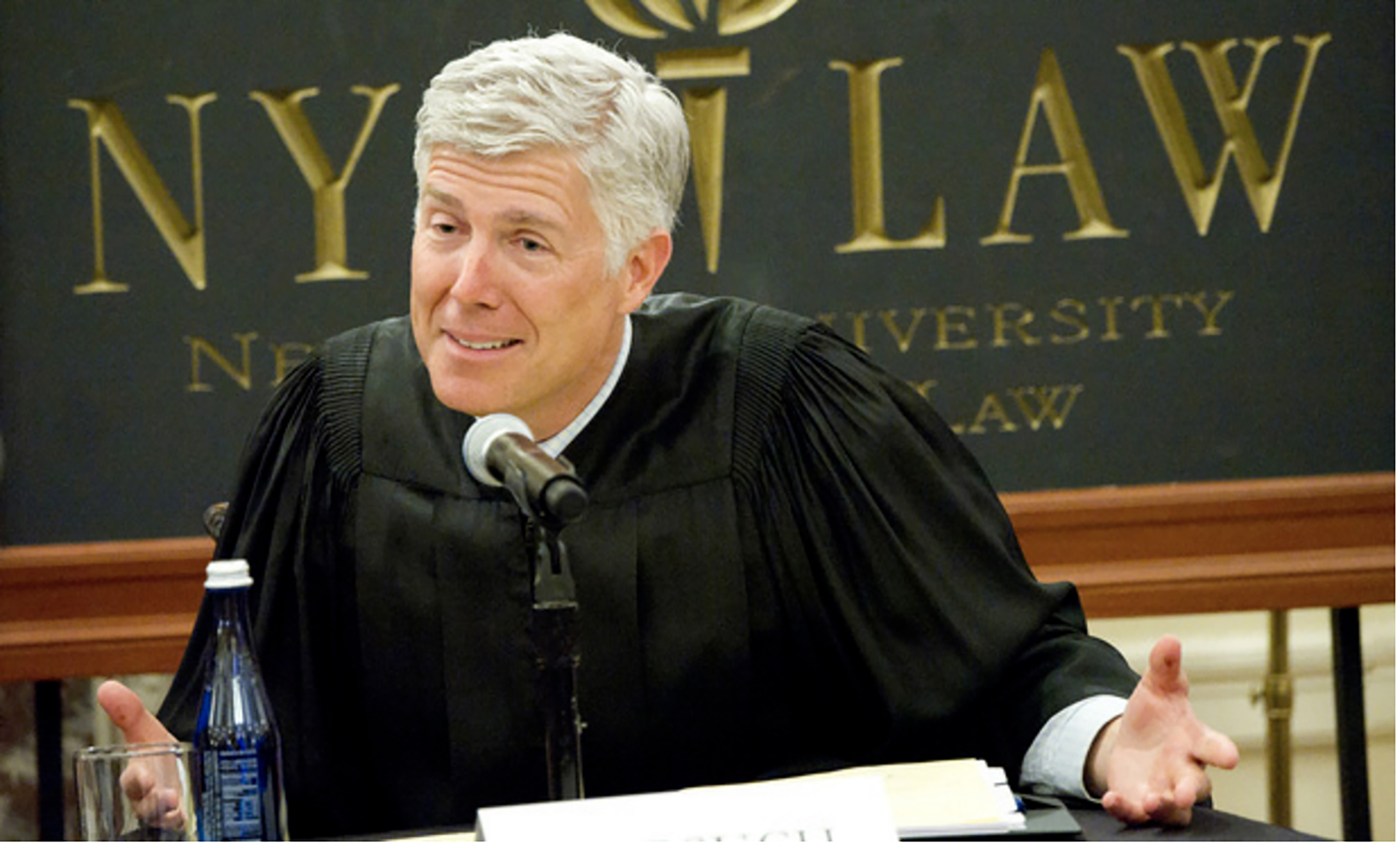 Judge Gorsuch, United States Court of Appeals for the Tenth Circuit, New York, N.Y.