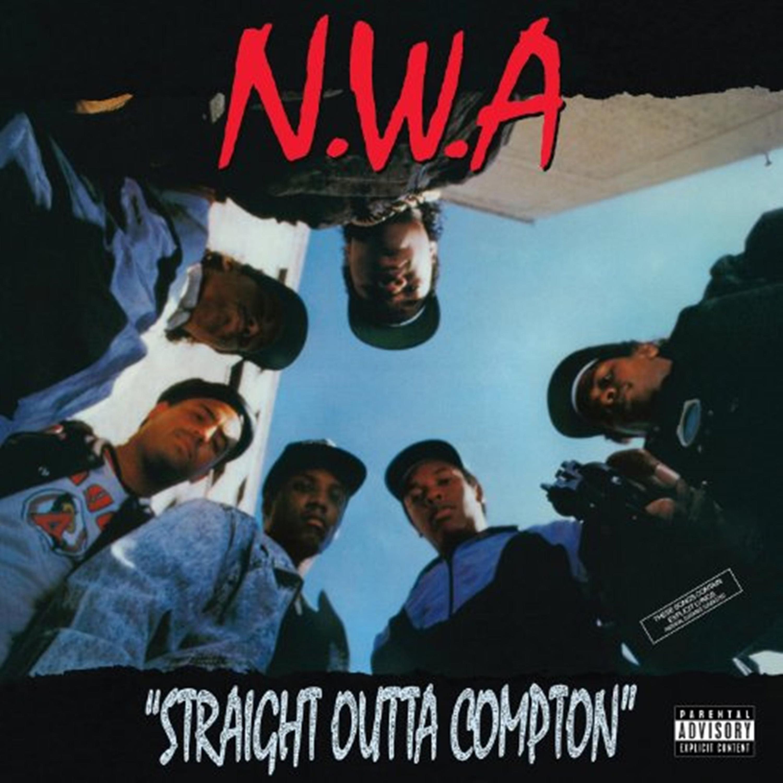 NWA  Straight Outta Compton  album cover.