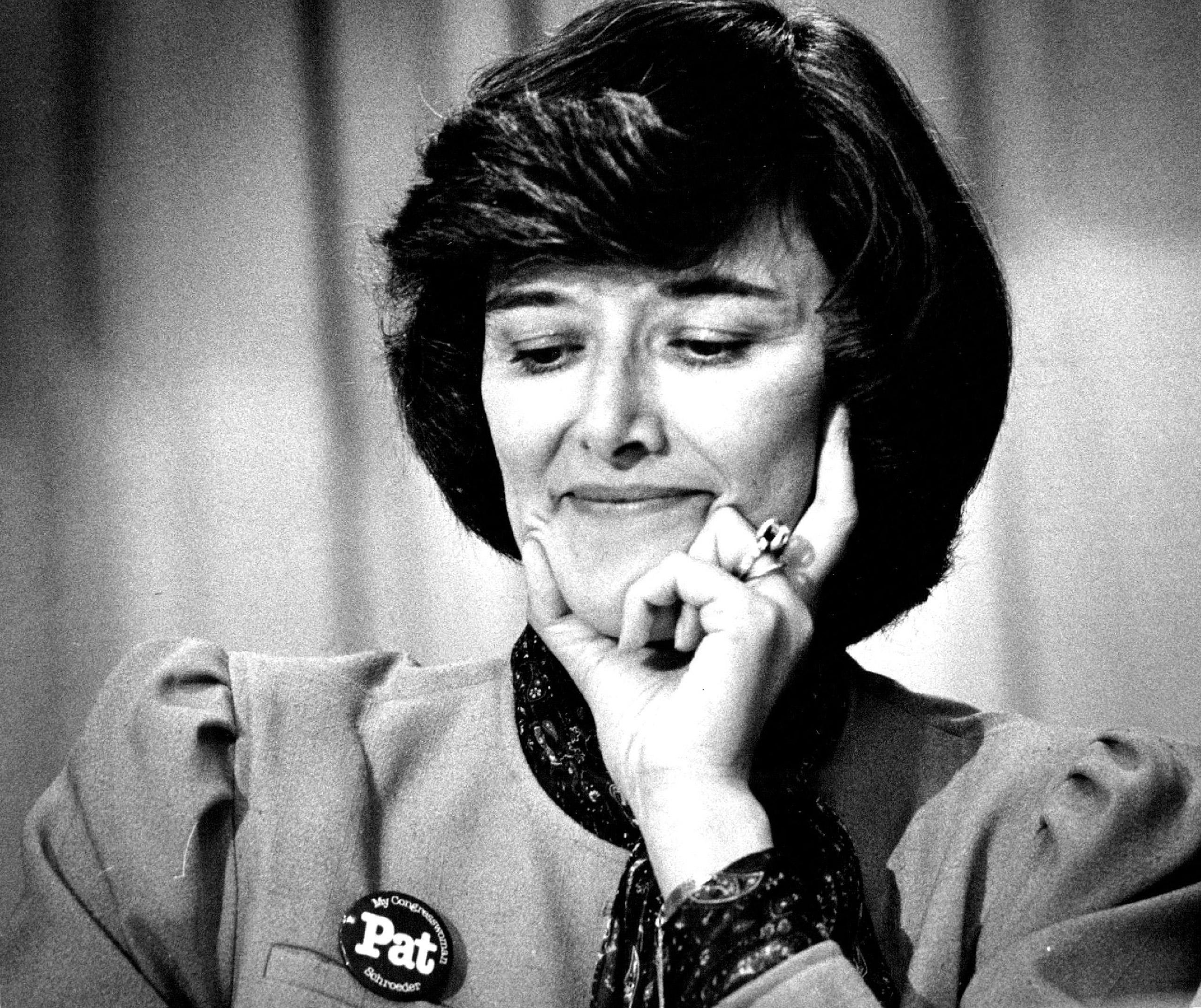 Democratic Representative Patricia Schroeder, 1983.