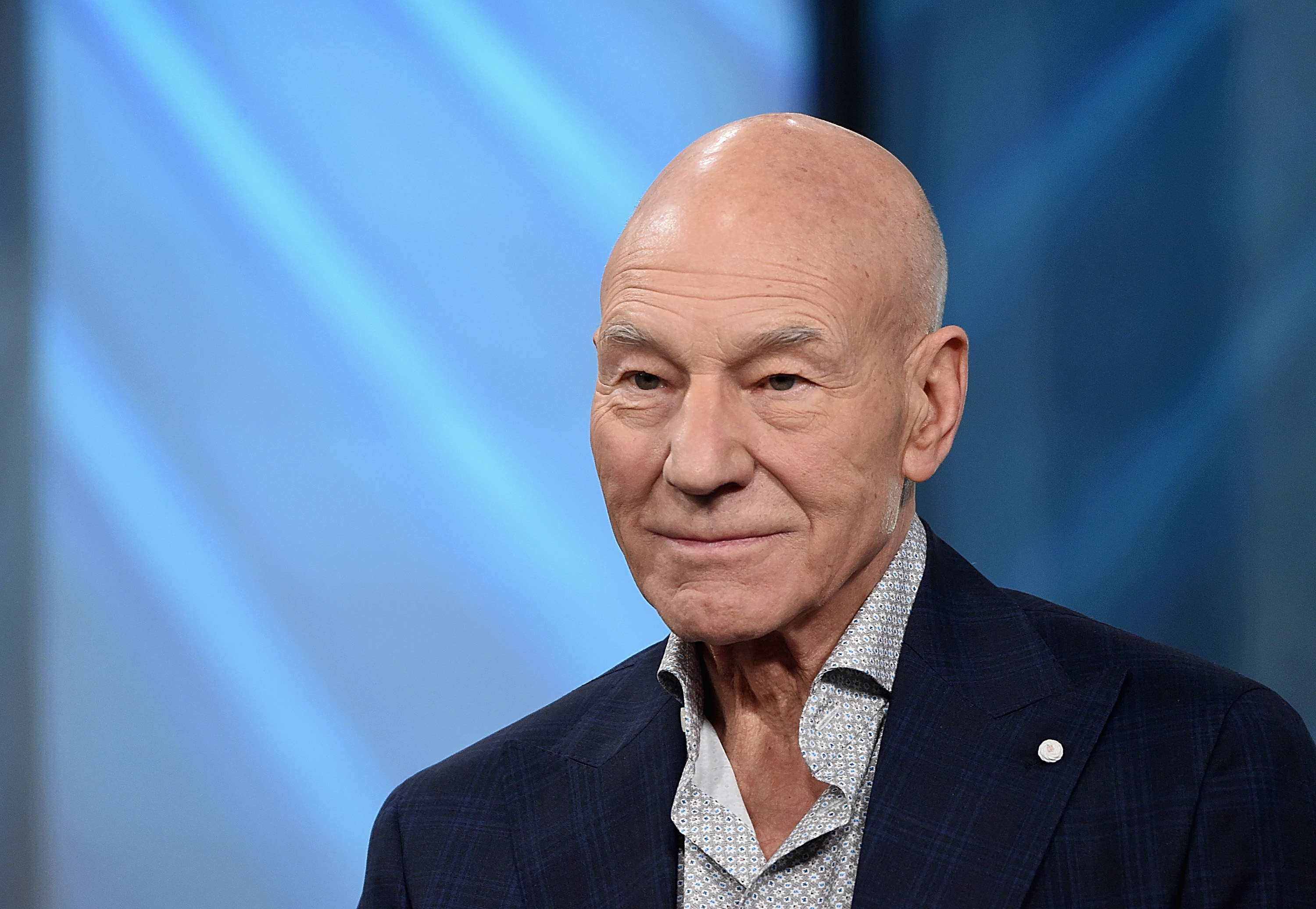 Patrick Stewart attends the Build Series Presents Hugh Jackman And Patrick Stewart Discussing  Logan  at Build Studio on March 2, 2017 in New York City.