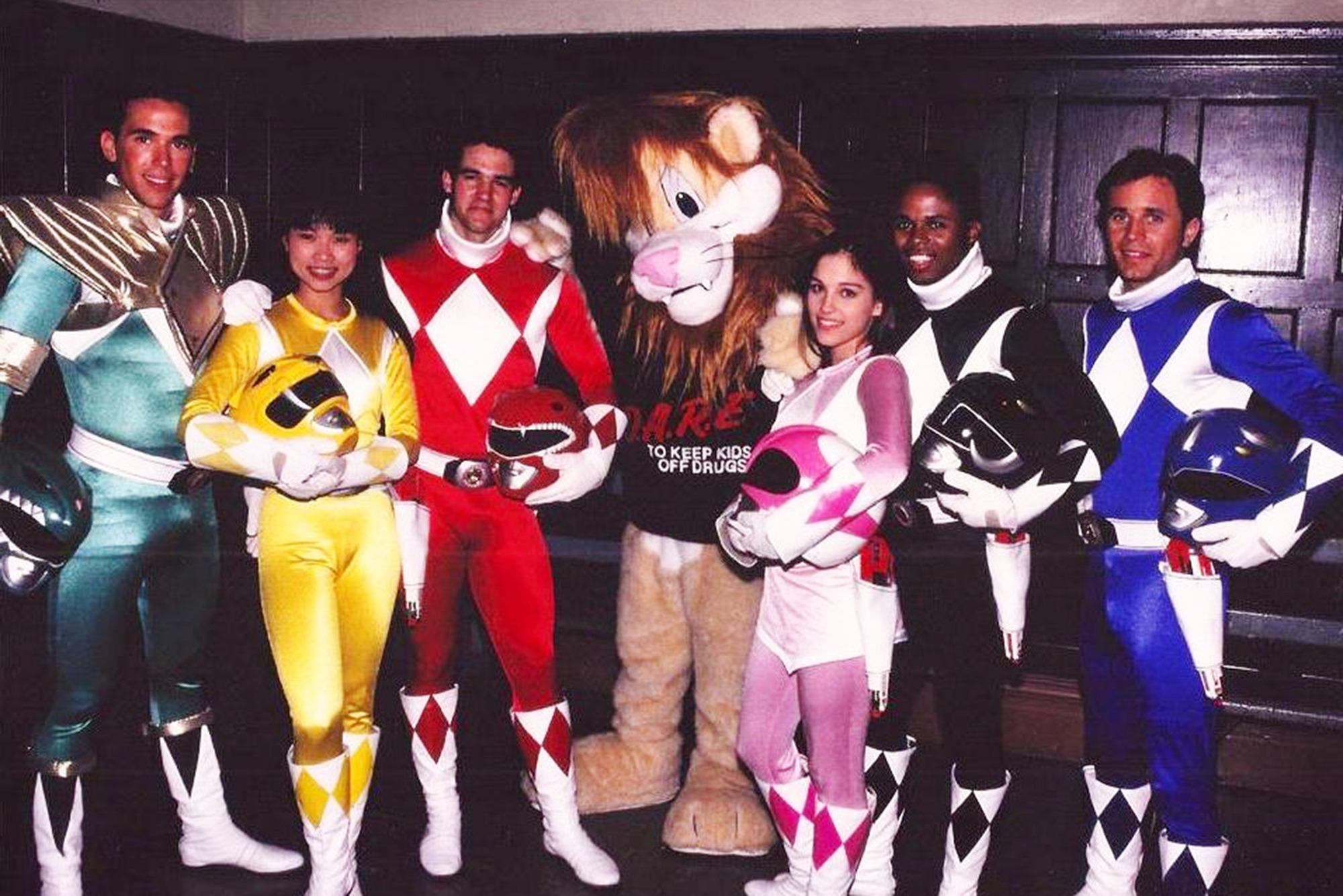 Power Rangers Behind The Scenes Of The Original 1990s Show Time
