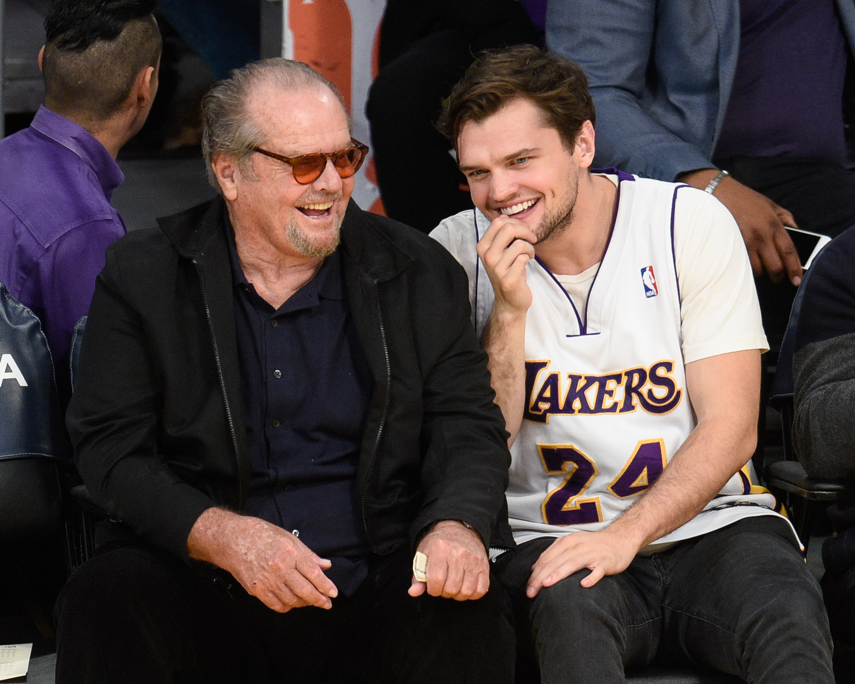 See Leonardo Dicaprio Lookalike Jack Nicholson S Son Photos Time Ray was born raymond broussard nicholson on february 20, 1992 in los angeles, ca. https time com 4715496 leo dicaprio ray nicholson lookalike