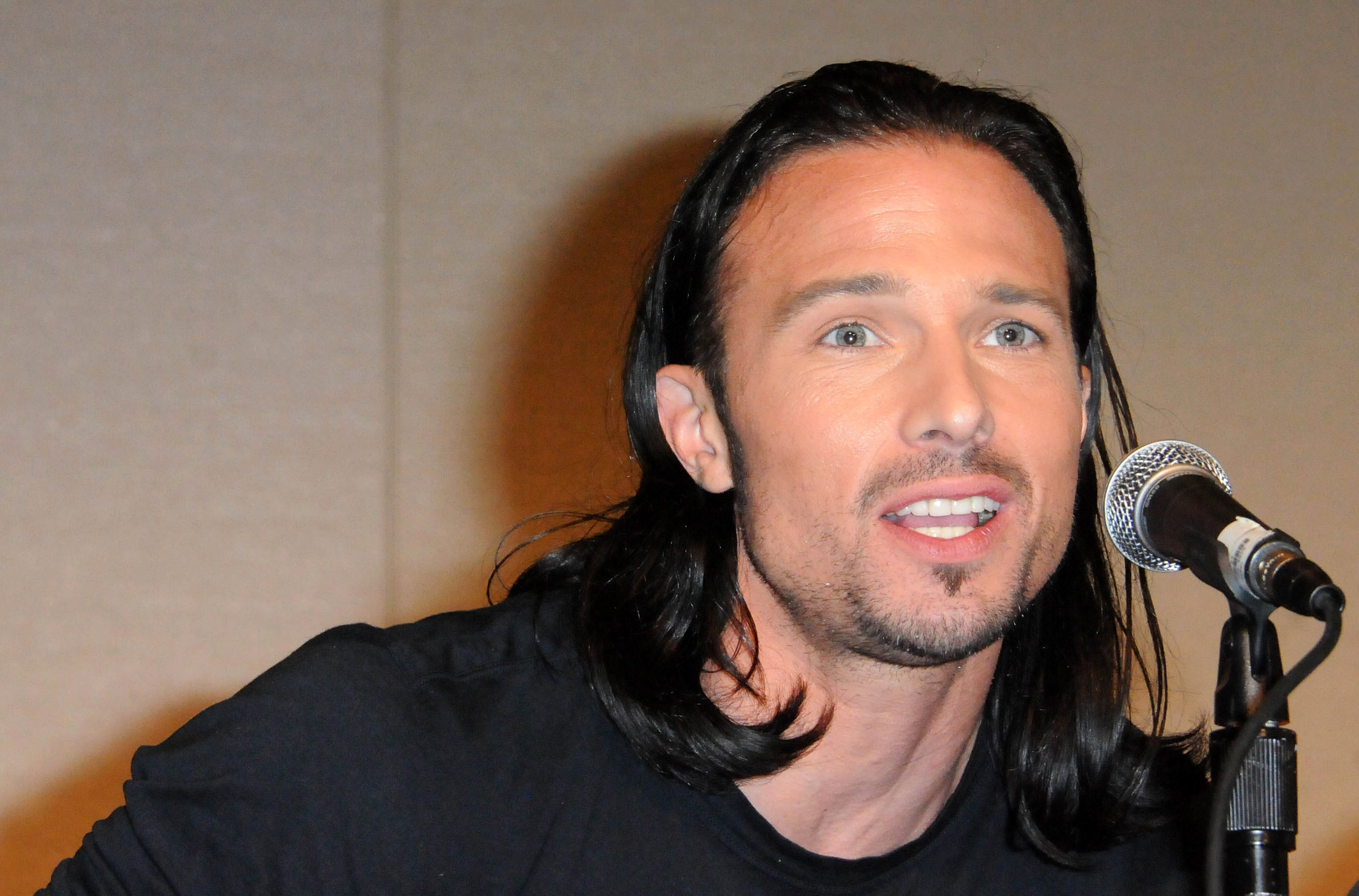 Actor Ricardo Medina Jr.  participates in the 2012 Power Morphicon 3 held at the Pasadena Convention Center on August 19, 2012 in Pasadena, California.