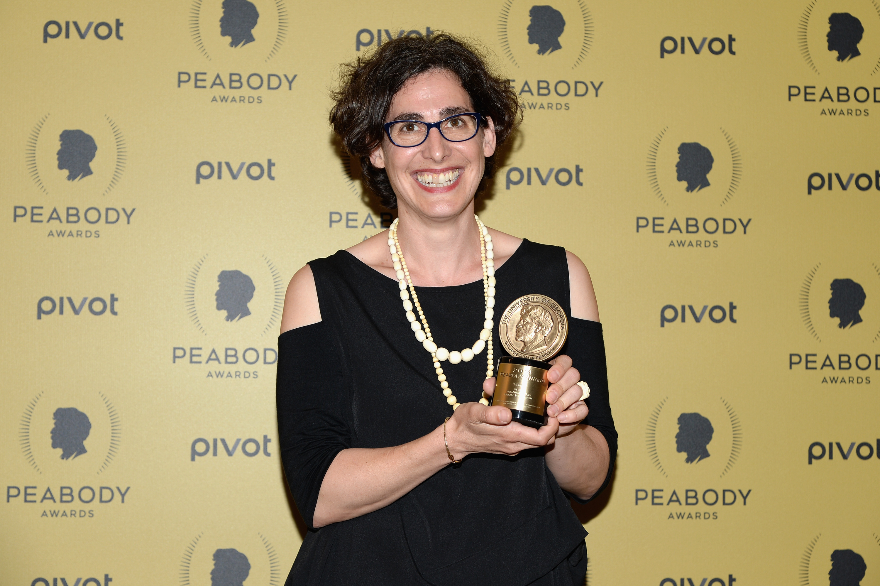 Sarah Koenig attends The 74th Annual Peabody Awards Ceremony at Cipriani Wall Street on May 31, 2015 in New York City.