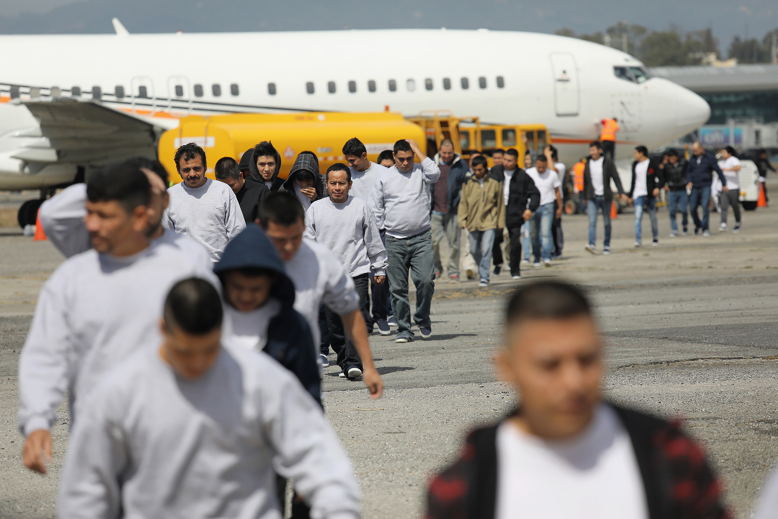 More than 100 immigrants deported from the U.S. returned to Guatemala in early February.