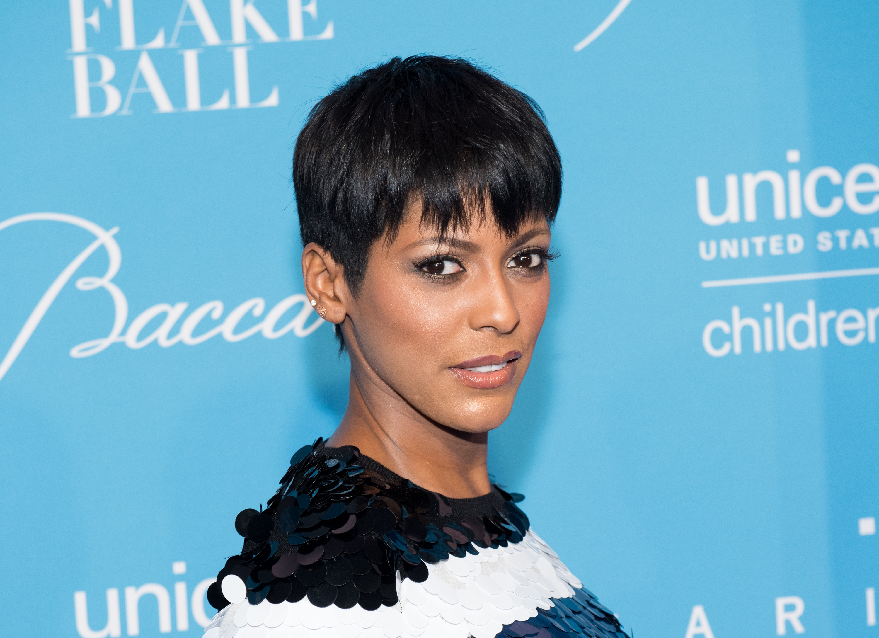 NEW YORK, NY - NOVEMBER 29:  Tamron Hall attends the 12th Annual UNICEF Snowflake Ball at Cipriani Wall Street on November 29, 2016 in New York City.  (Photo by Noam Galai/WireImage)
