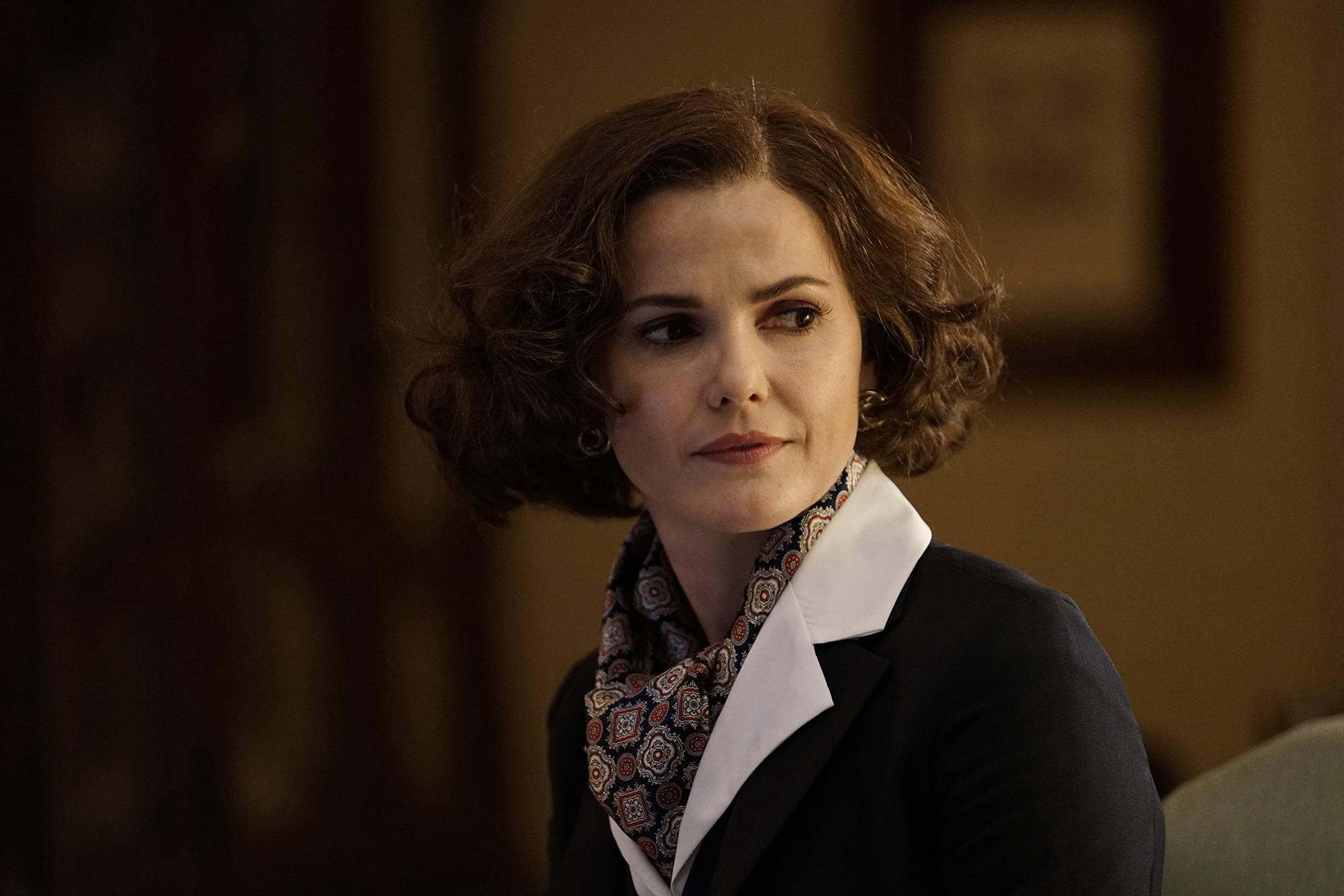 Keri Russell as Elizabeth Jennings in Season 5 of The Americans.